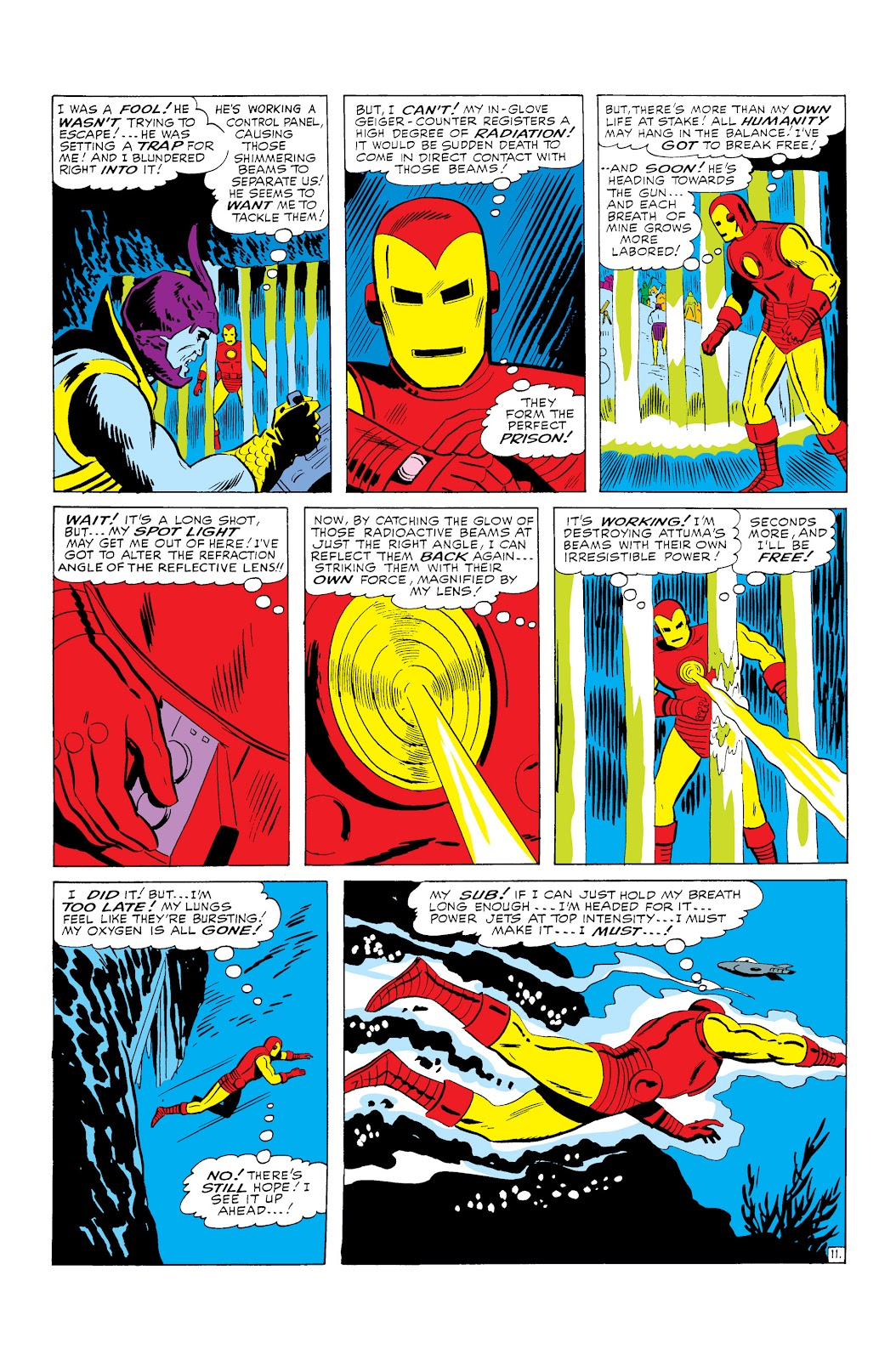 Read online Marvel Masterworks: The Invincible Iron Man comic -  Issue # TPB 3 (Part 1) - 14