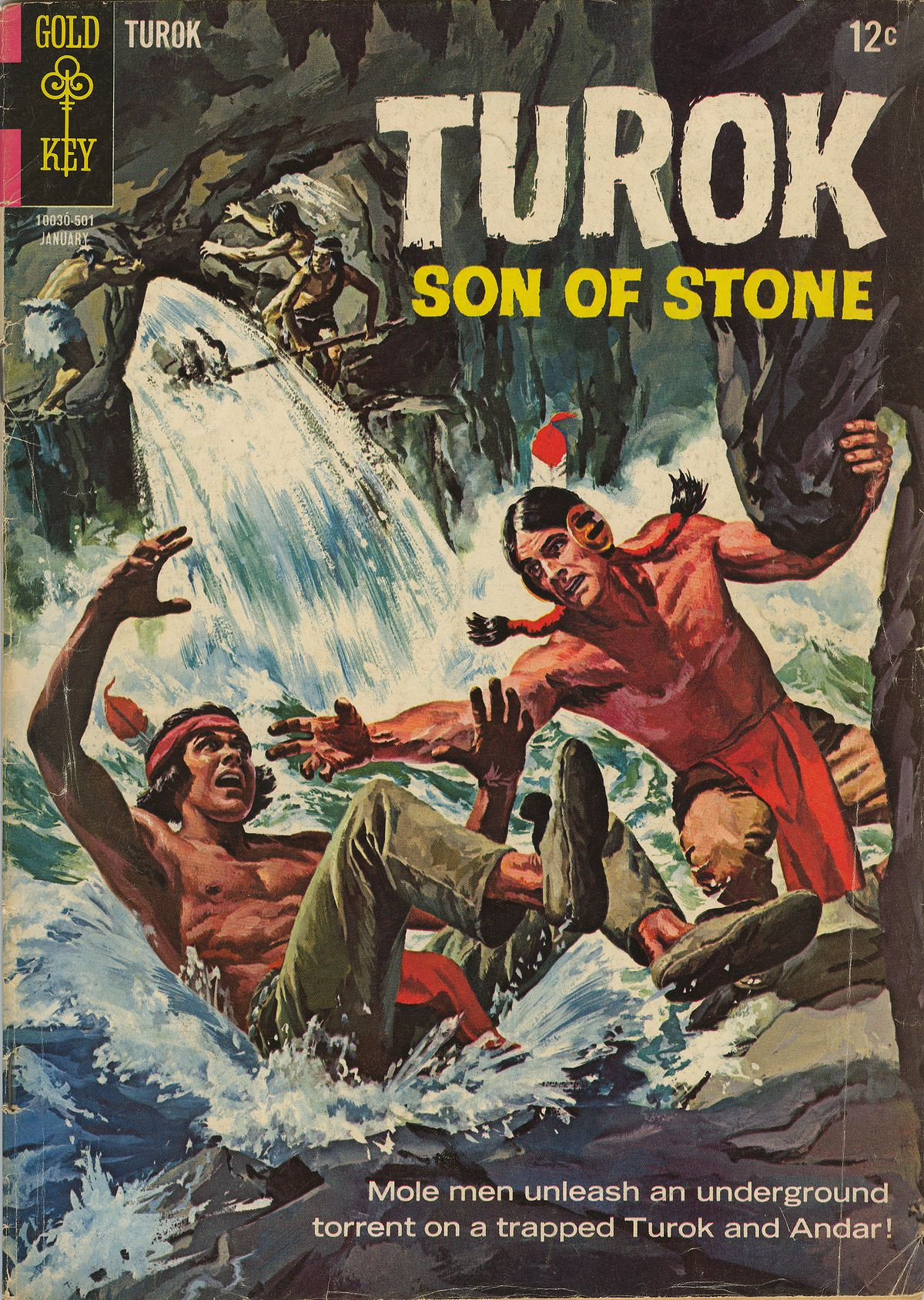 Read online Turok, Son of Stone comic -  Issue #43 - 1