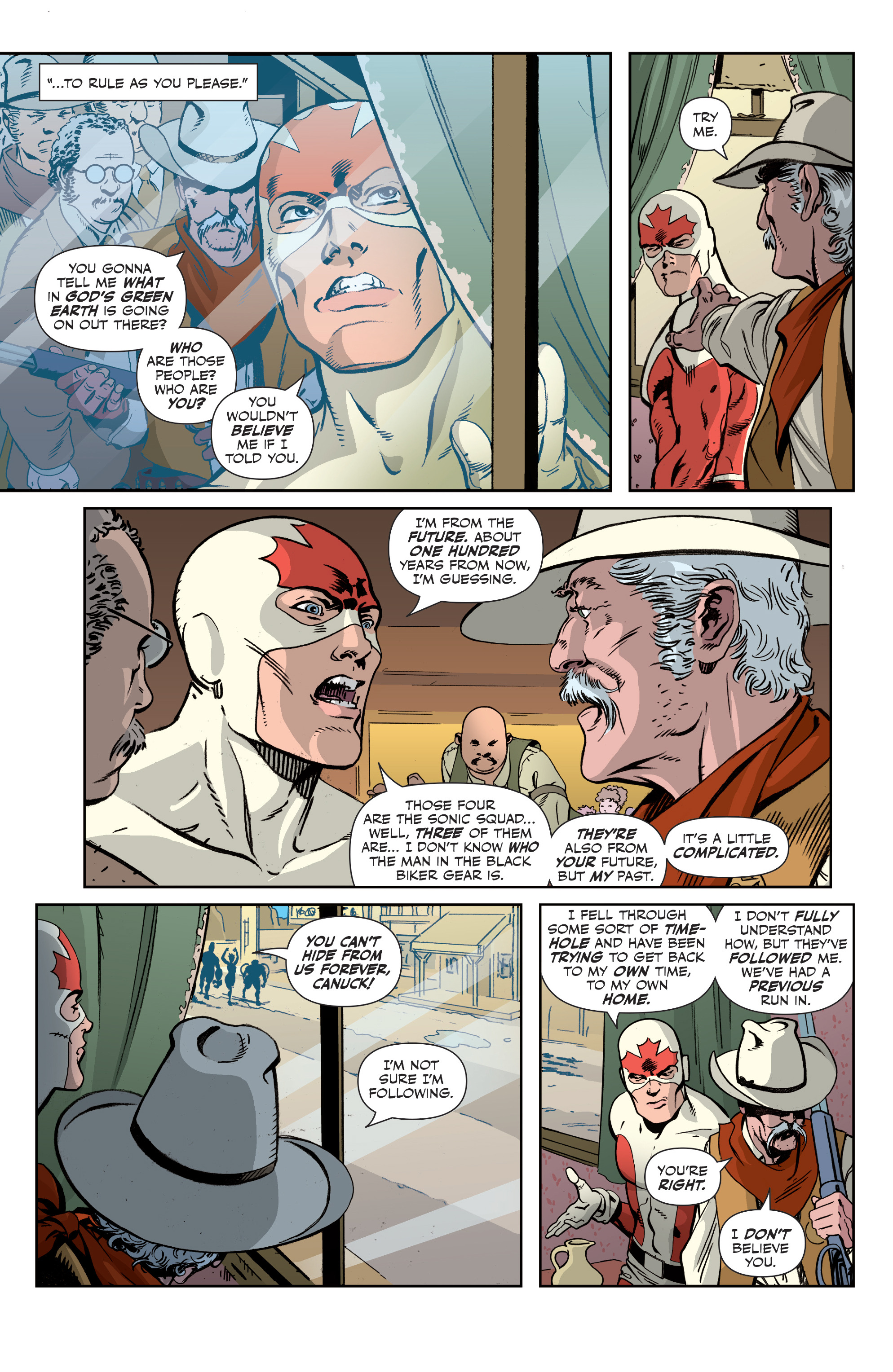 Read online All-New Classic Captain Canuck comic -  Issue #2 - 10
