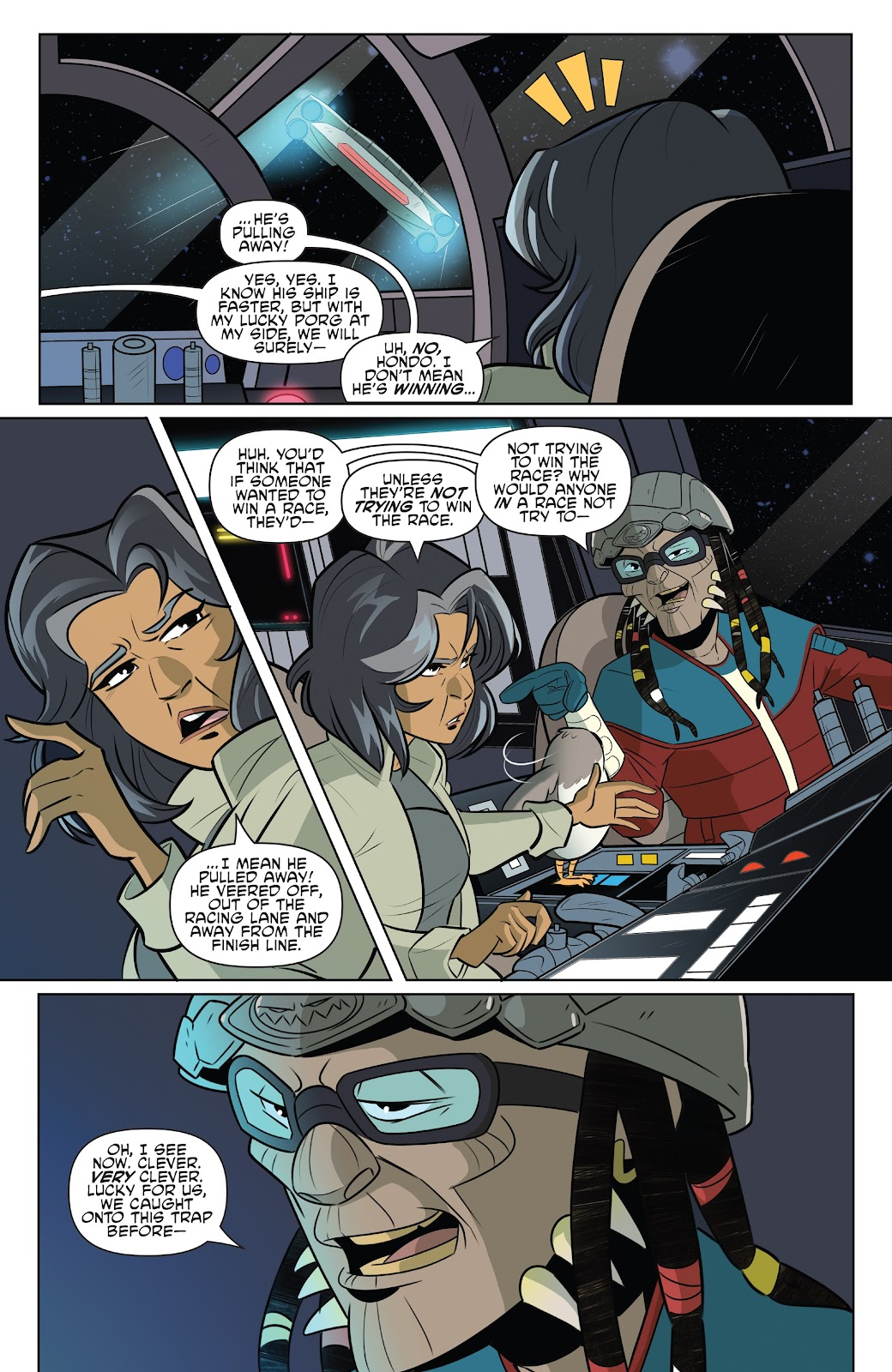 Read online Star Wars Adventures: Flight of the Falcon comic -  Issue # Full - 13