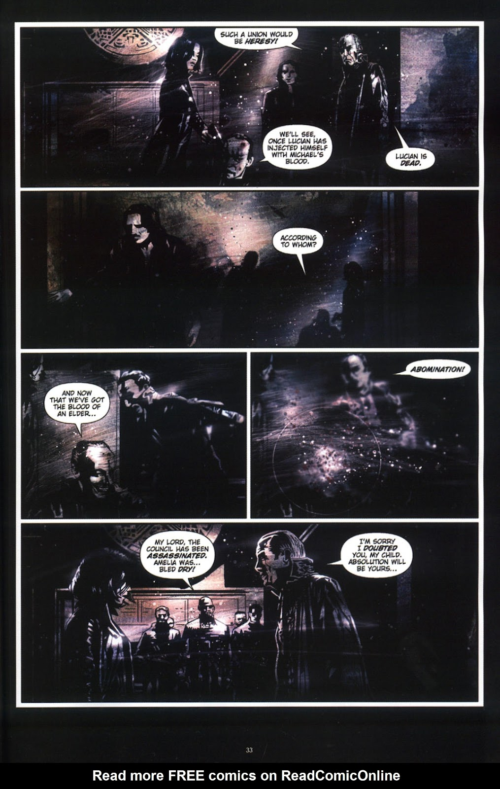 Read online Underworld (2003) comic -  Issue # Full - 35