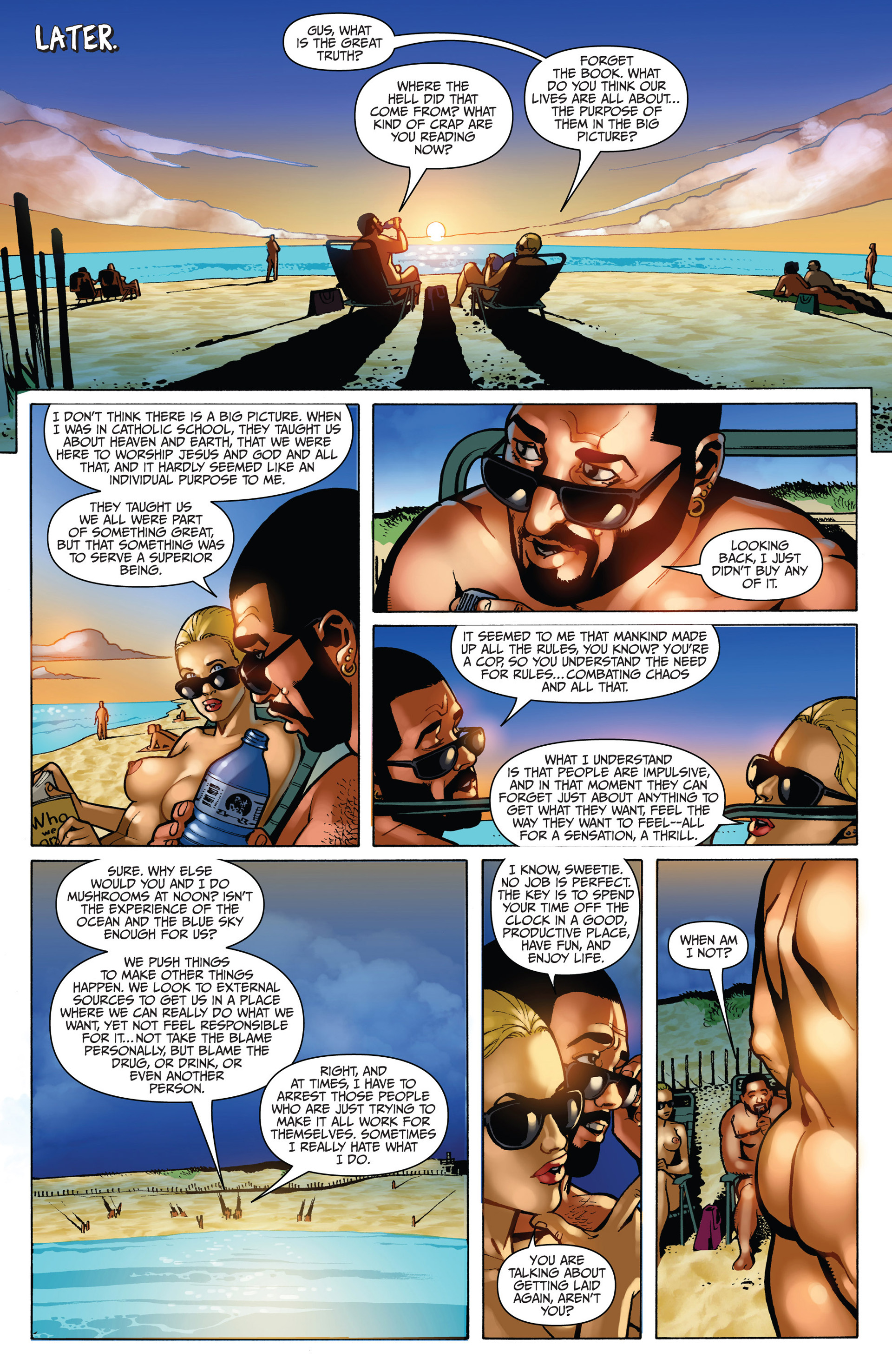 Read online Sex and Violence comic -  Issue # Full - 45
