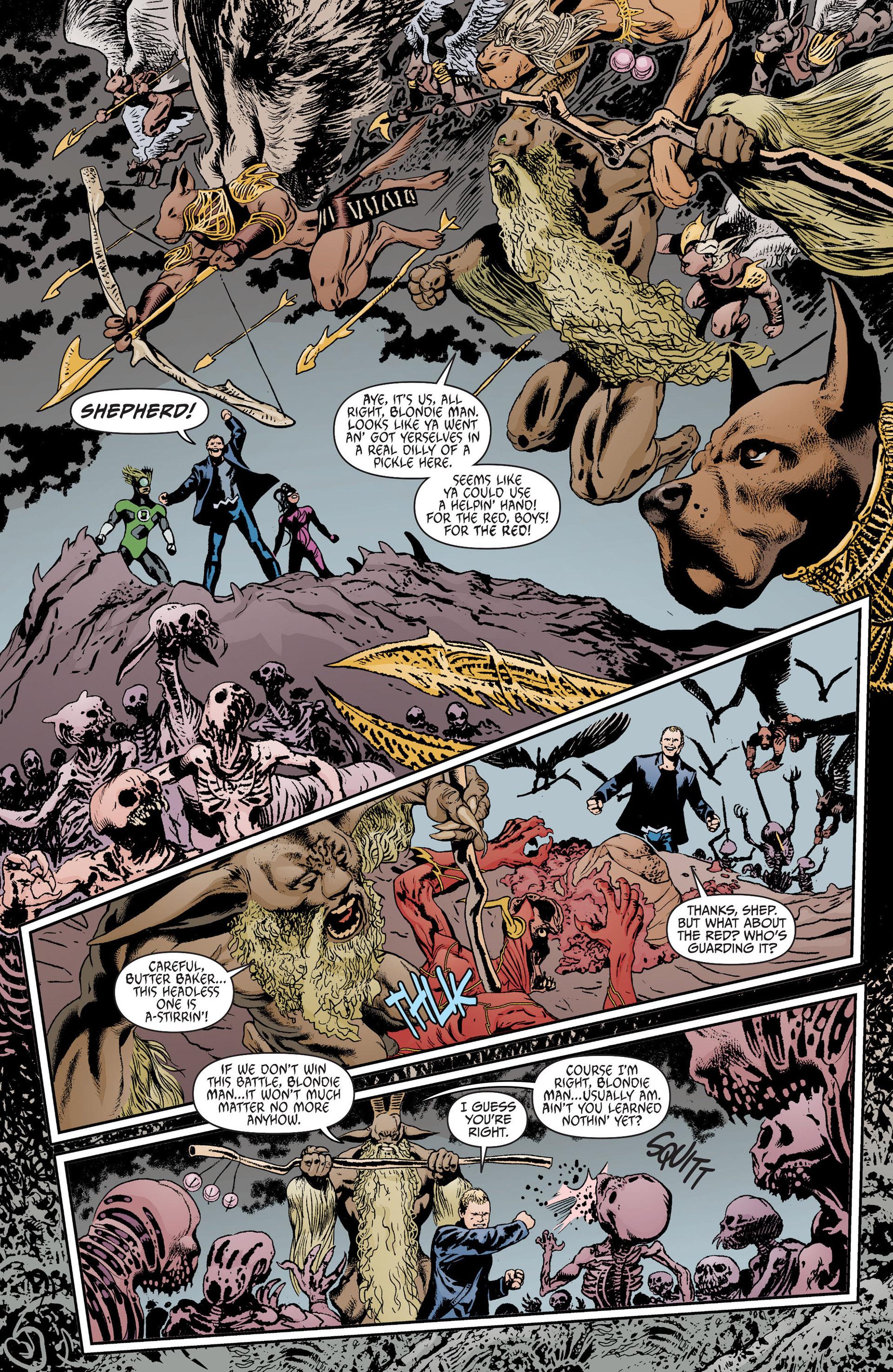 Read online Animal Man (2011) comic -  Issue #17 - 12