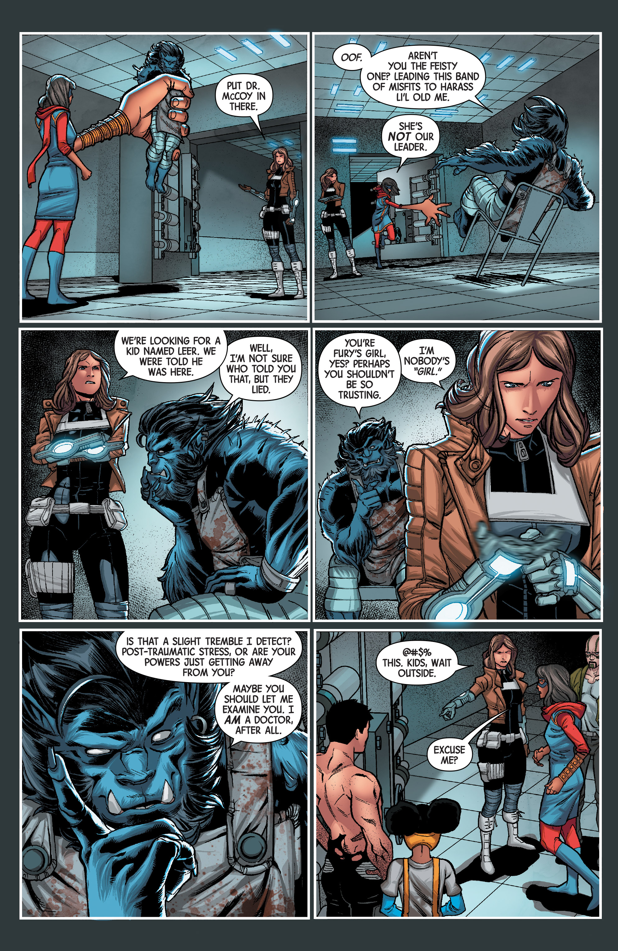 Read online Secret Warriors (2017) comic -  Issue #3 - 16