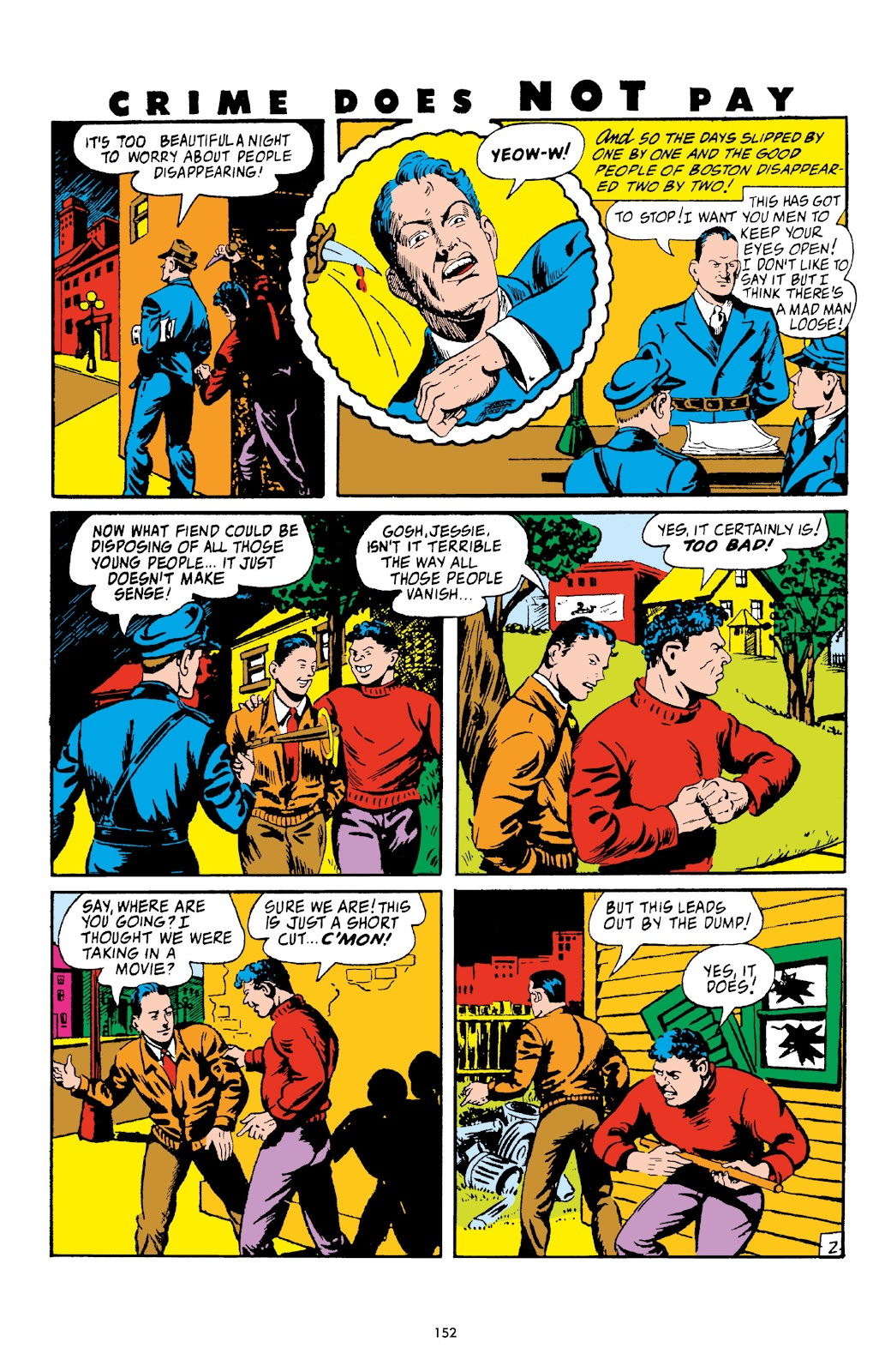 Read online Crime Does Not Pay Archives comic -  Issue # TPB 4 (Part 2) - 52