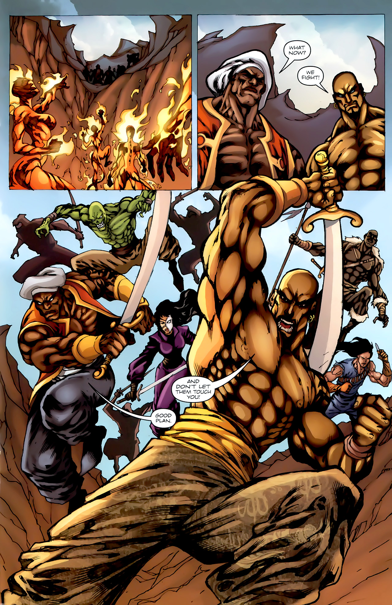 Read online 1001 Arabian Nights: The Adventures of Sinbad comic -  Issue #4 - 15