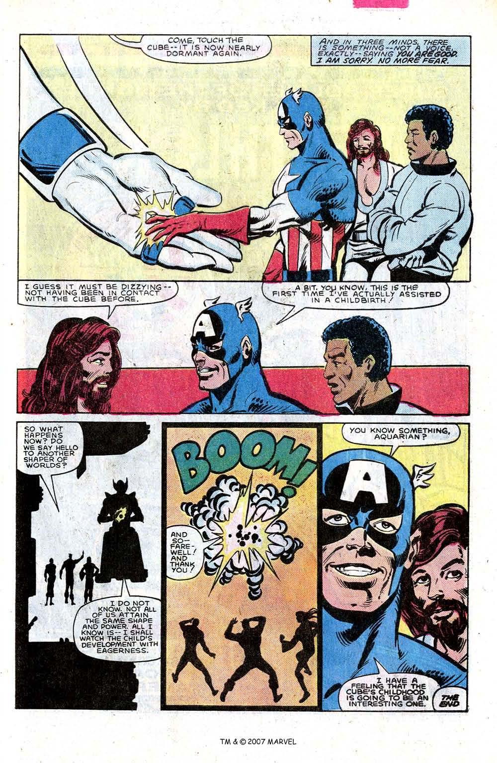 Read online Captain America (1968) comic -  Issue # _Annual 7 - 49