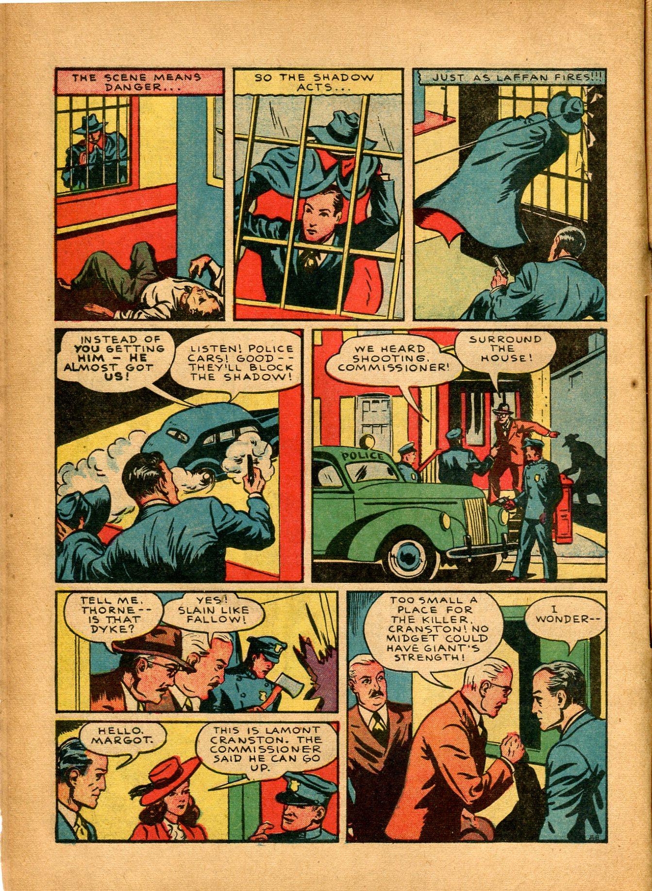 Read online Shadow Comics comic -  Issue #8 - 10