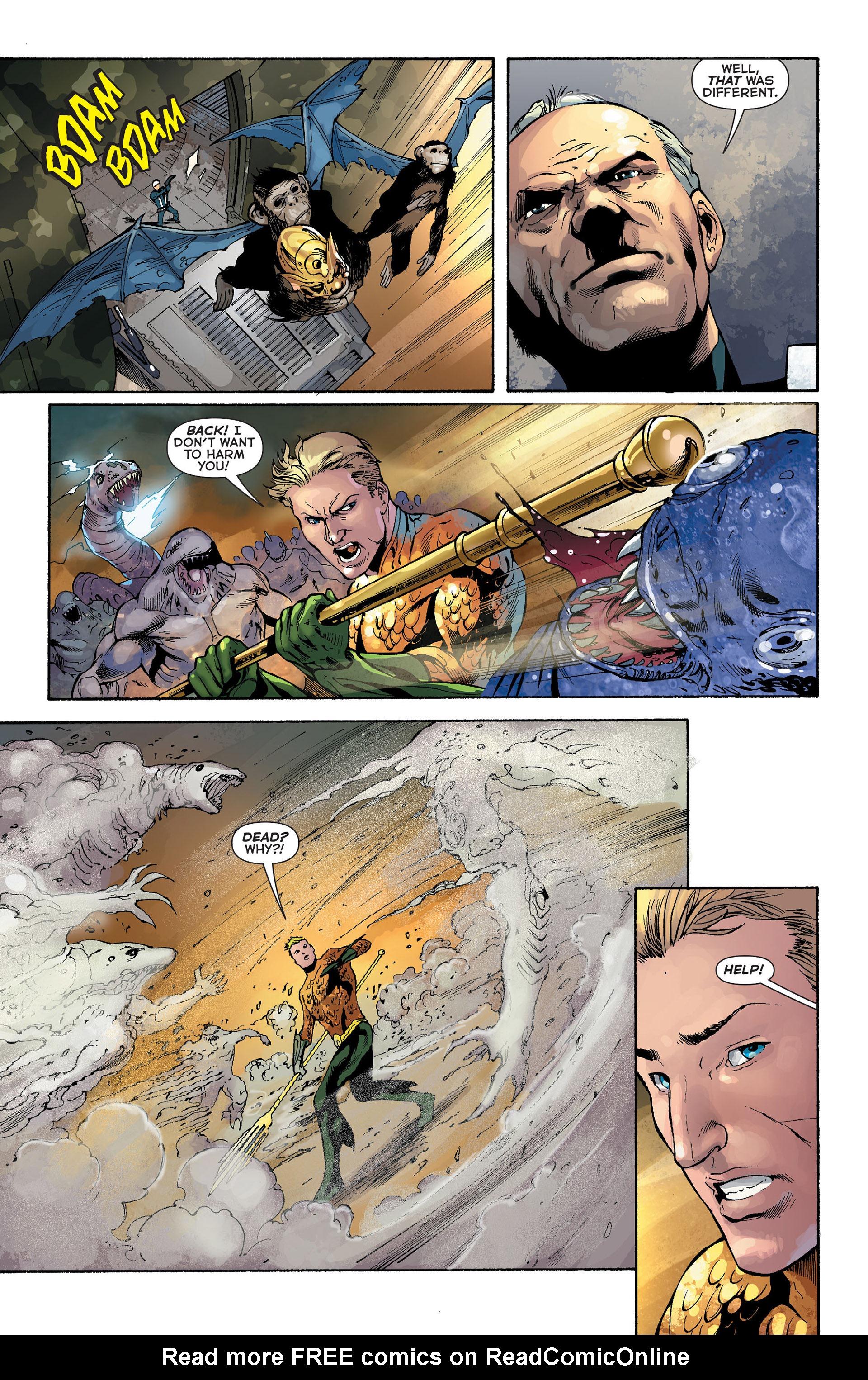 Read online Aquaman (2011) comic -  Issue #Aquaman (2011) _Annual 1 - 9