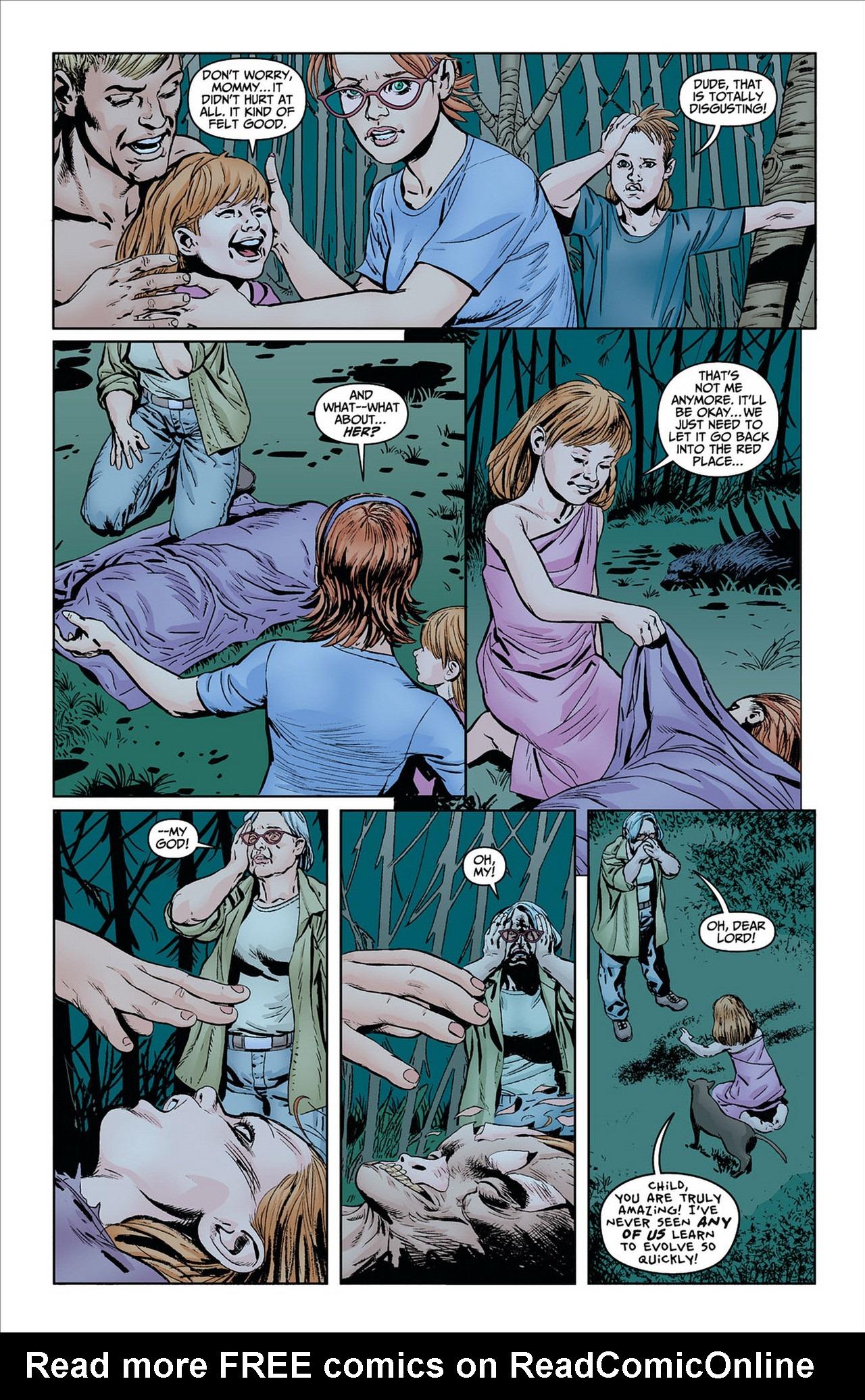 Read online Animal Man (2011) comic -  Issue #8 - 10