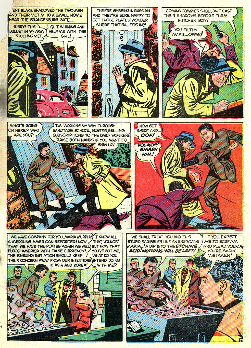 Kent Blake of the Secret Service issue 1 - Page 25
