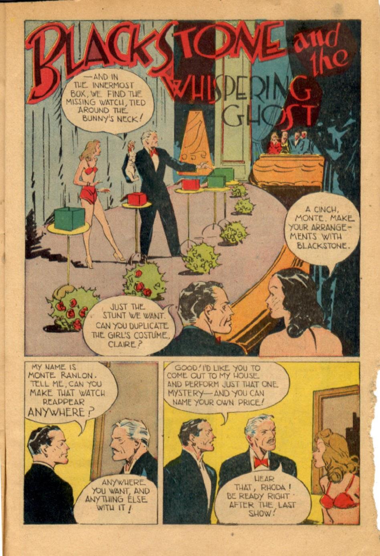 Read online Super-Magician Comics comic -  Issue #43 - 43