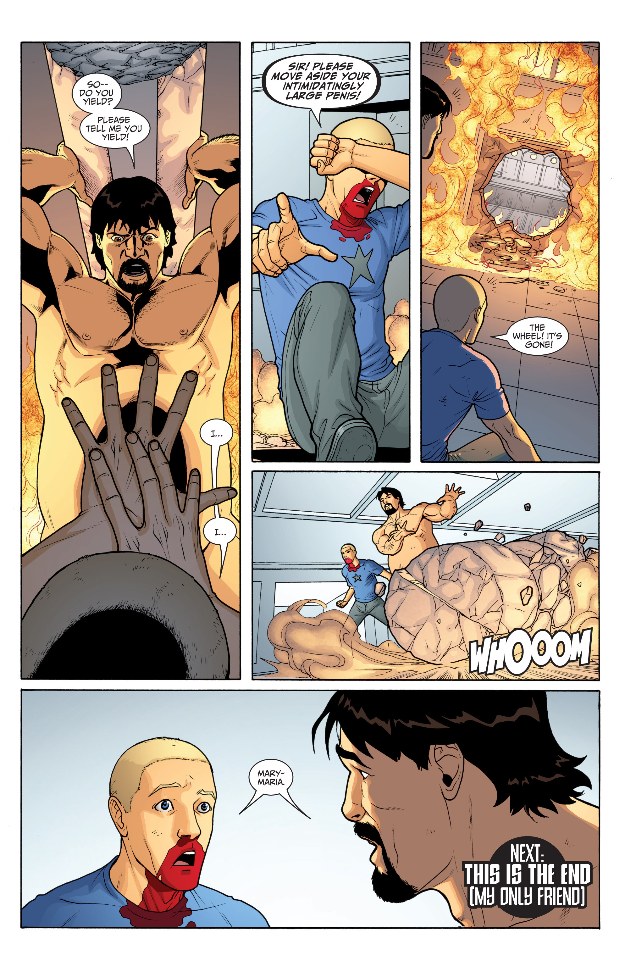 Read online Archer and Armstrong comic -  Issue #Archer and Armstrong _TPB 6 - 71