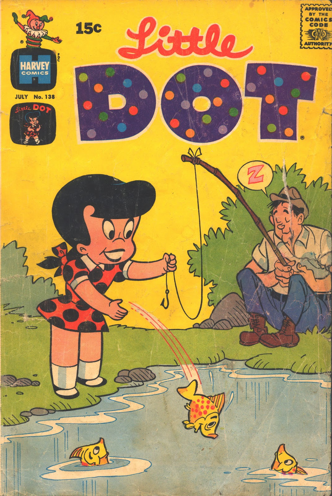 Little Dot (1953) issue 138 - Page 1