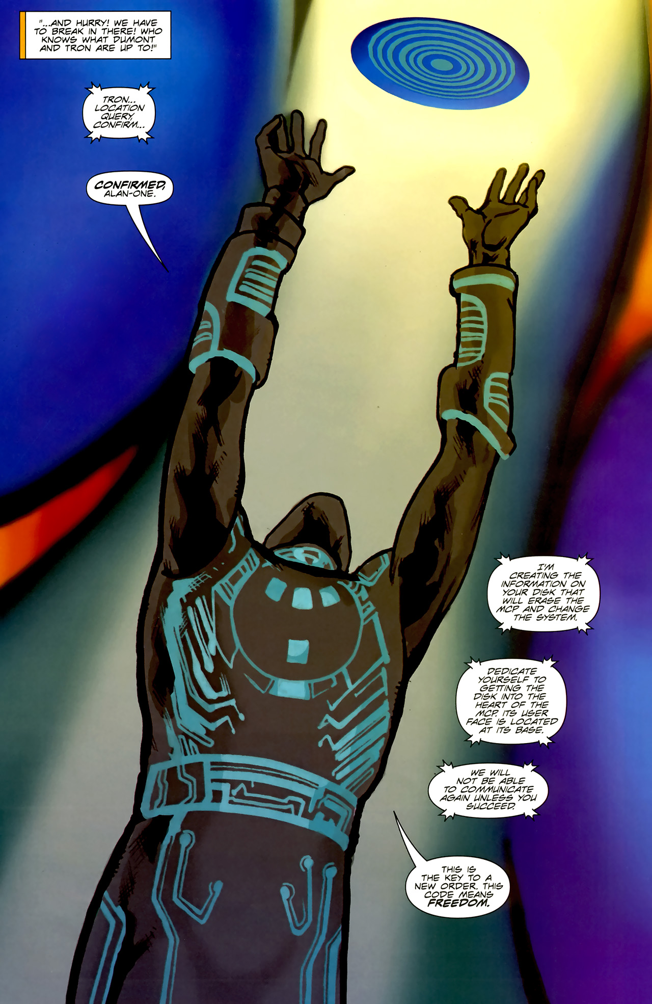 Read online TRON: Original Movie Adaptation comic -  Issue #2 - 18
