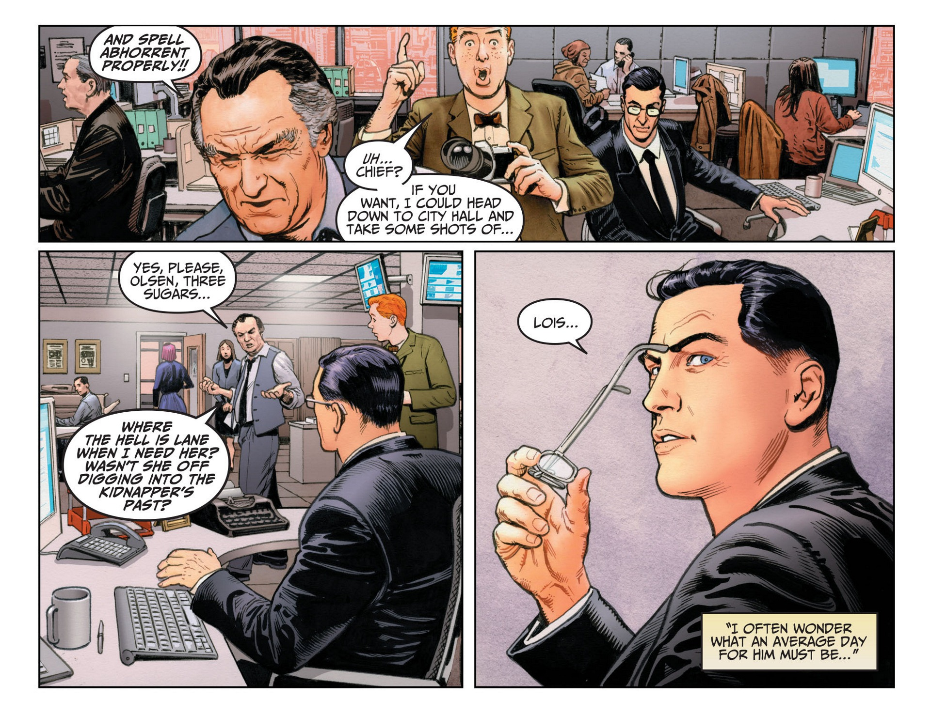 Read online Adventures of Superman [I] comic -  Issue #12 - 12