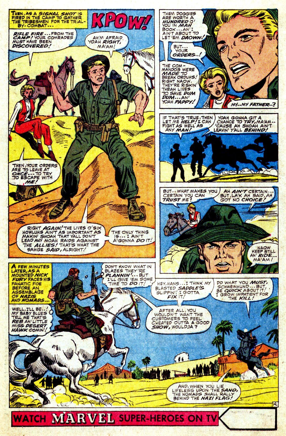 Read online Sgt. Fury comic -  Issue #37 - 20