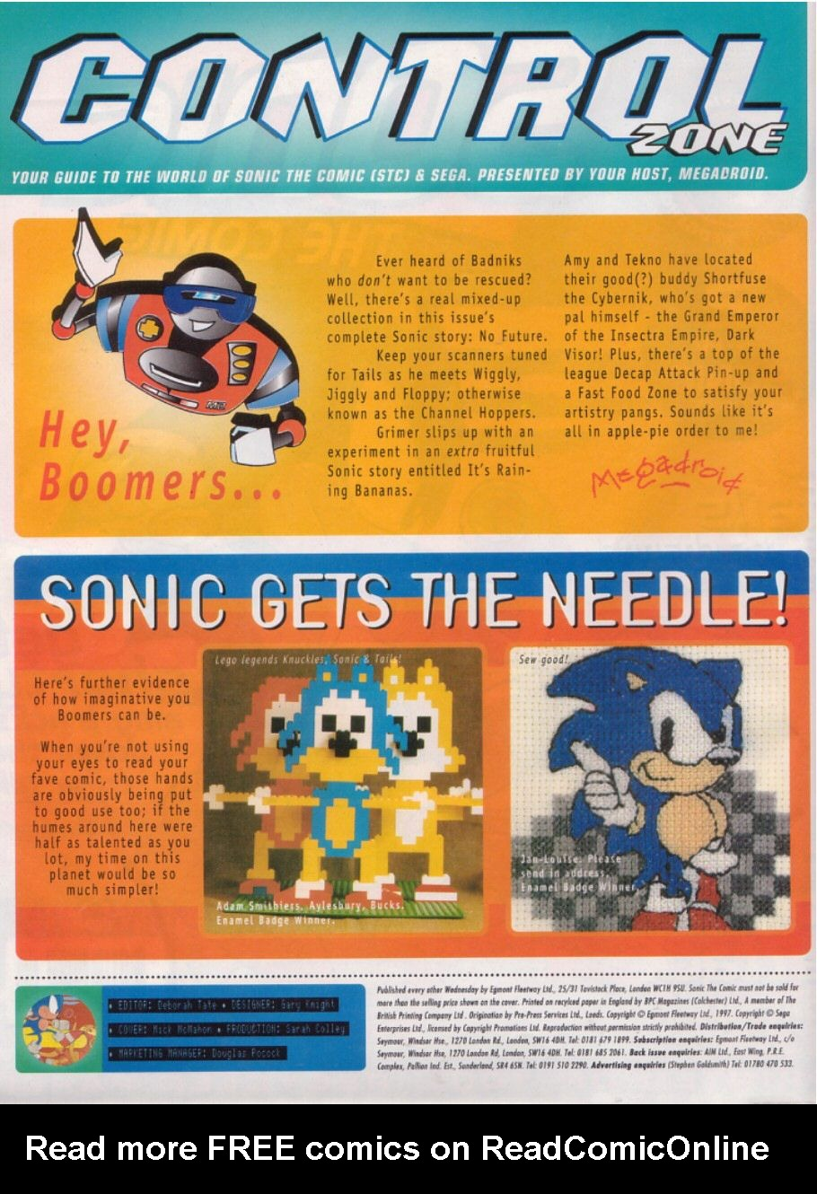 Read online Sonic the Comic comic -  Issue #112 - 2