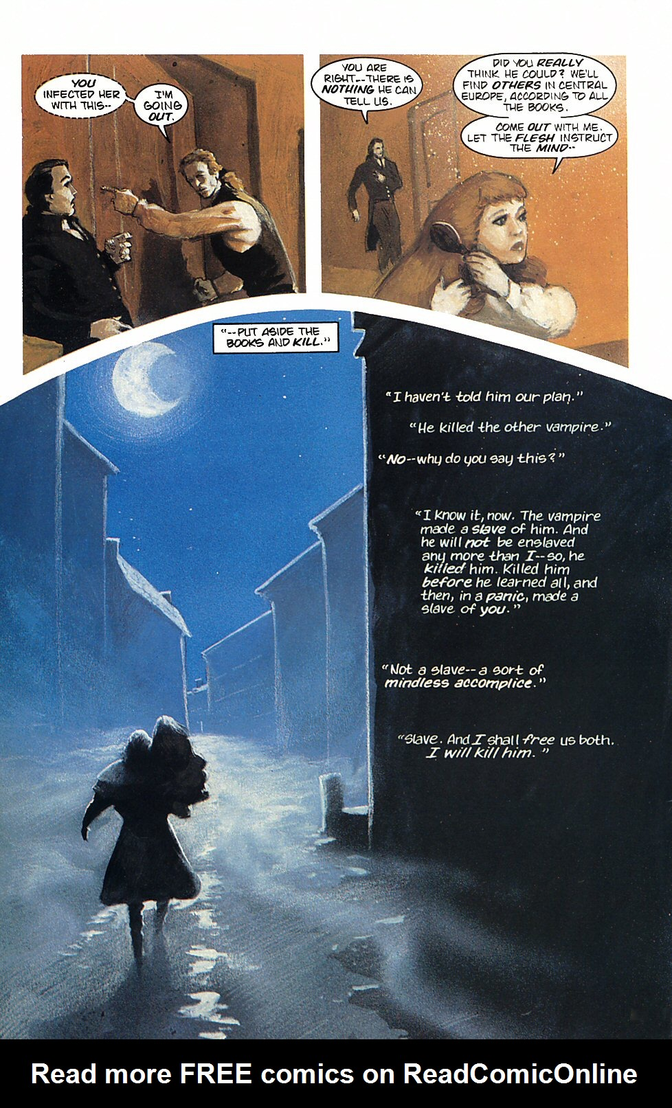 Read online Anne Rice's Interview with the Vampire comic -  Issue #4 - 30