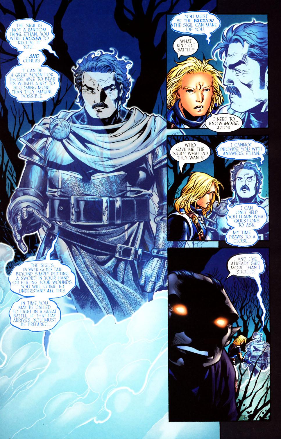 Read online Scion comic -  Issue #10 - 17