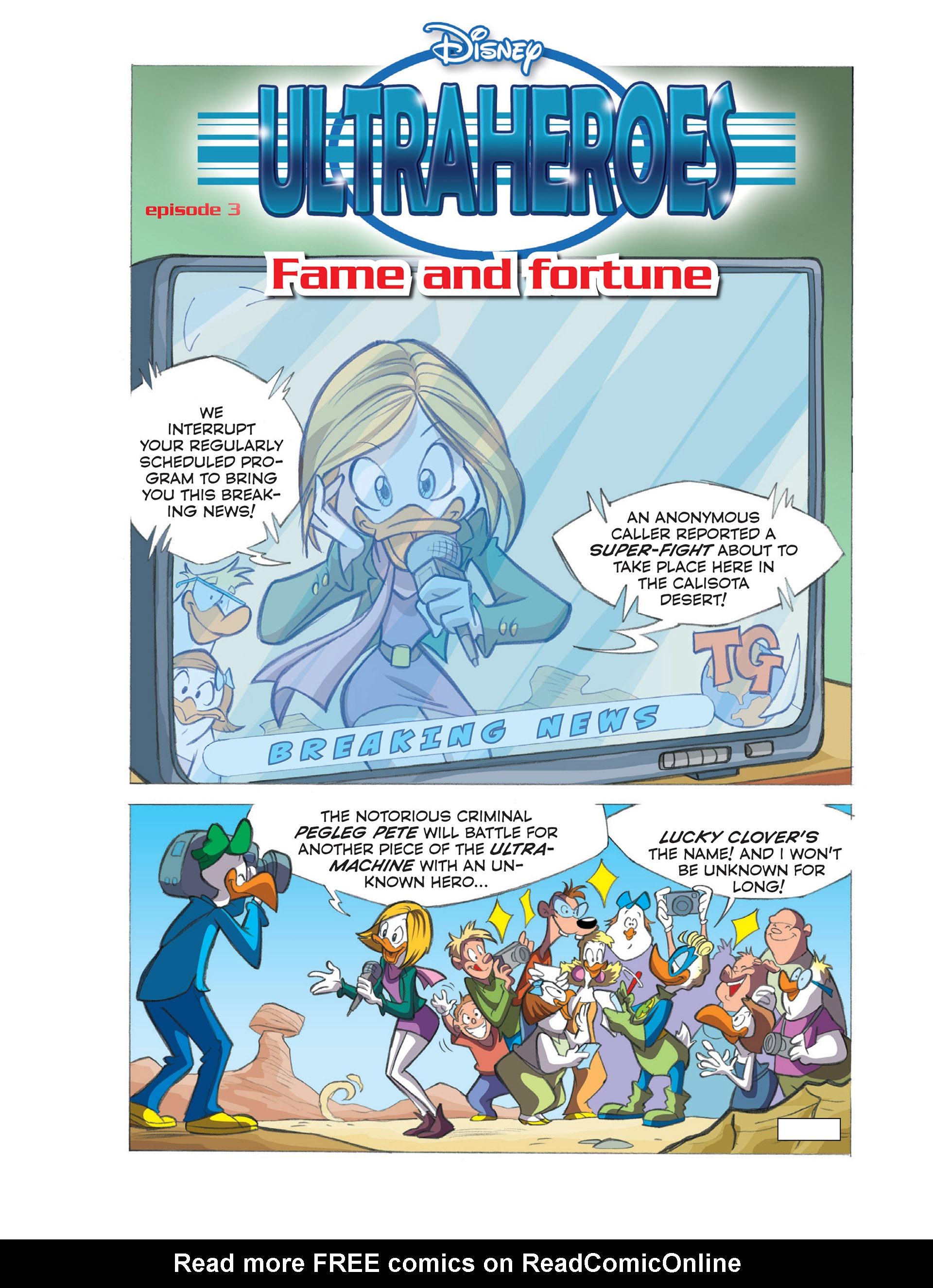 Read online Ultraheroes comic -  Issue #3 - 2