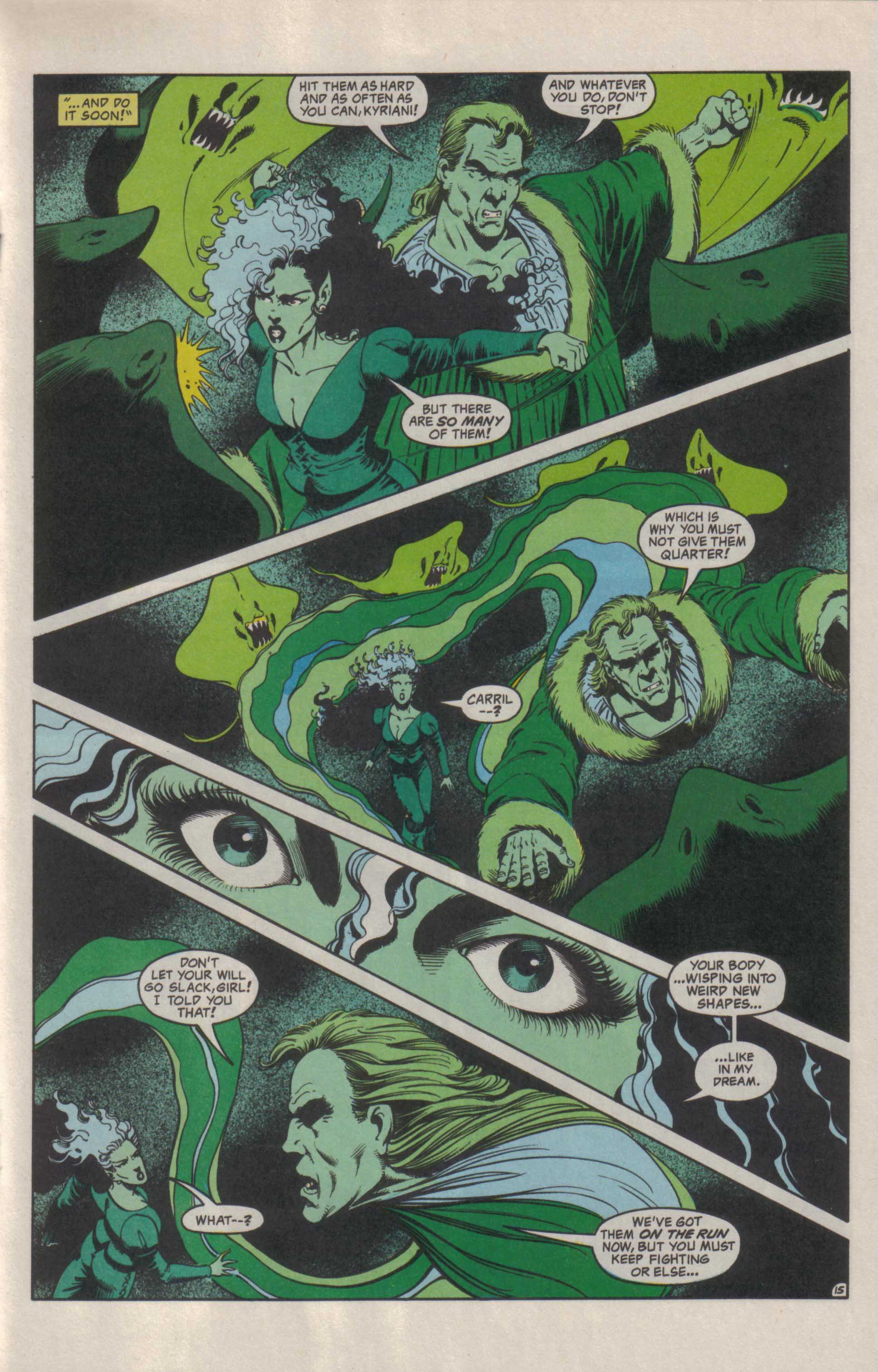Read online Advanced Dungeons & Dragons comic -  Issue #29 - 16