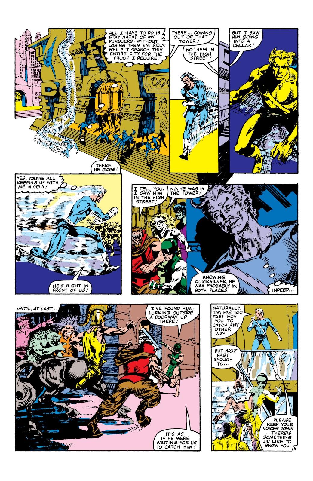 Read online Marvel Masterworks: The Inhumans comic -  Issue # TPB 2 (Part 3) - 112