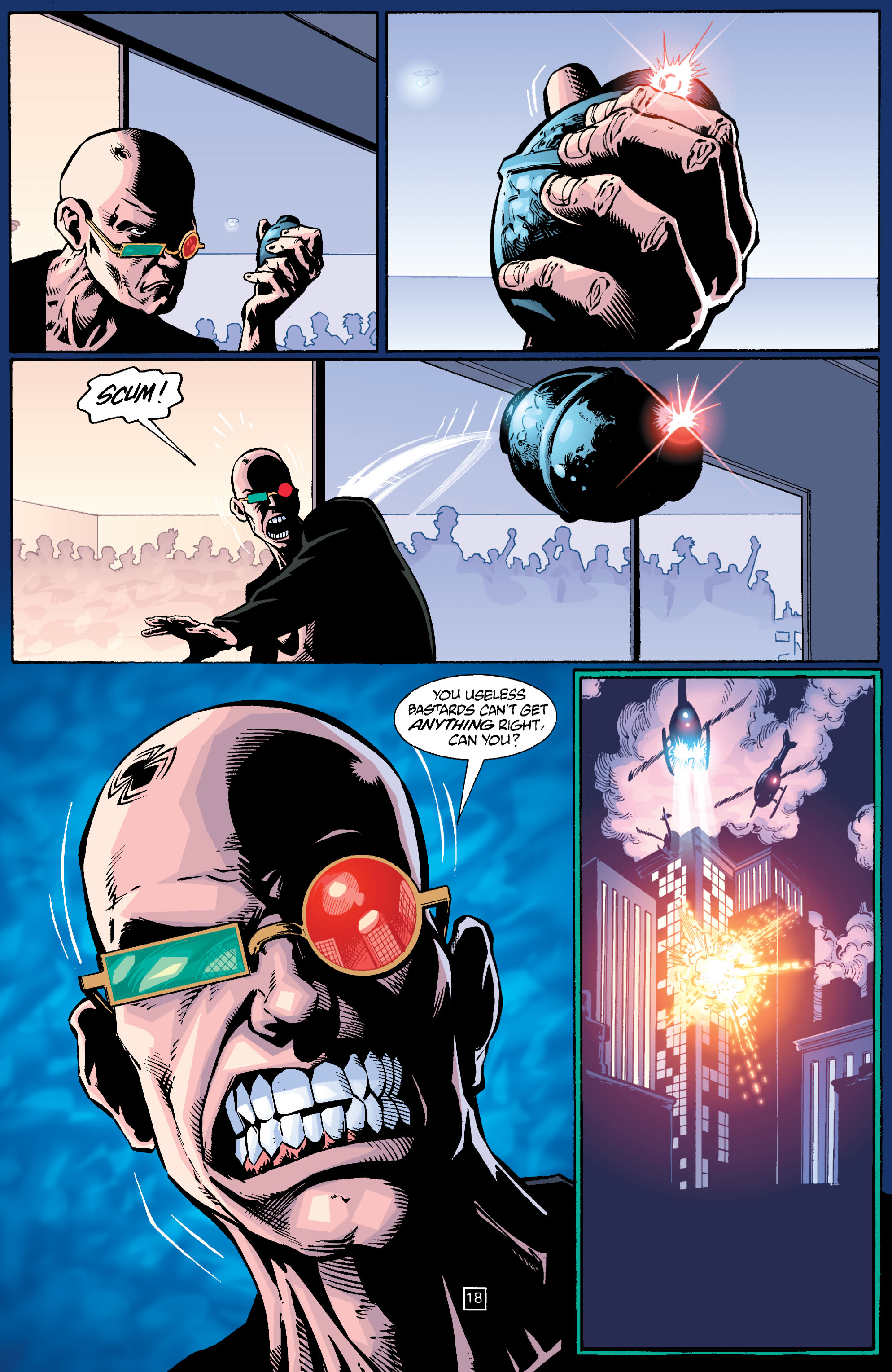 Read online Transmetropolitan comic -  Issue #24 - 19