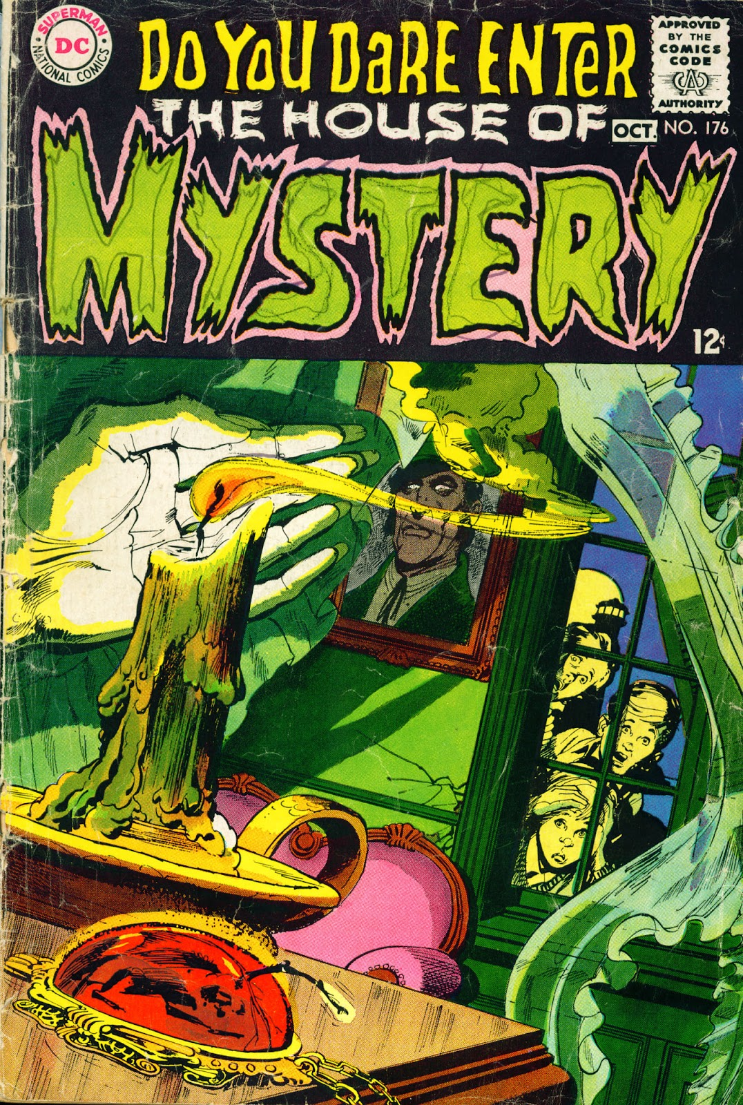 House of Mystery (1951) issue 176 - Page 1