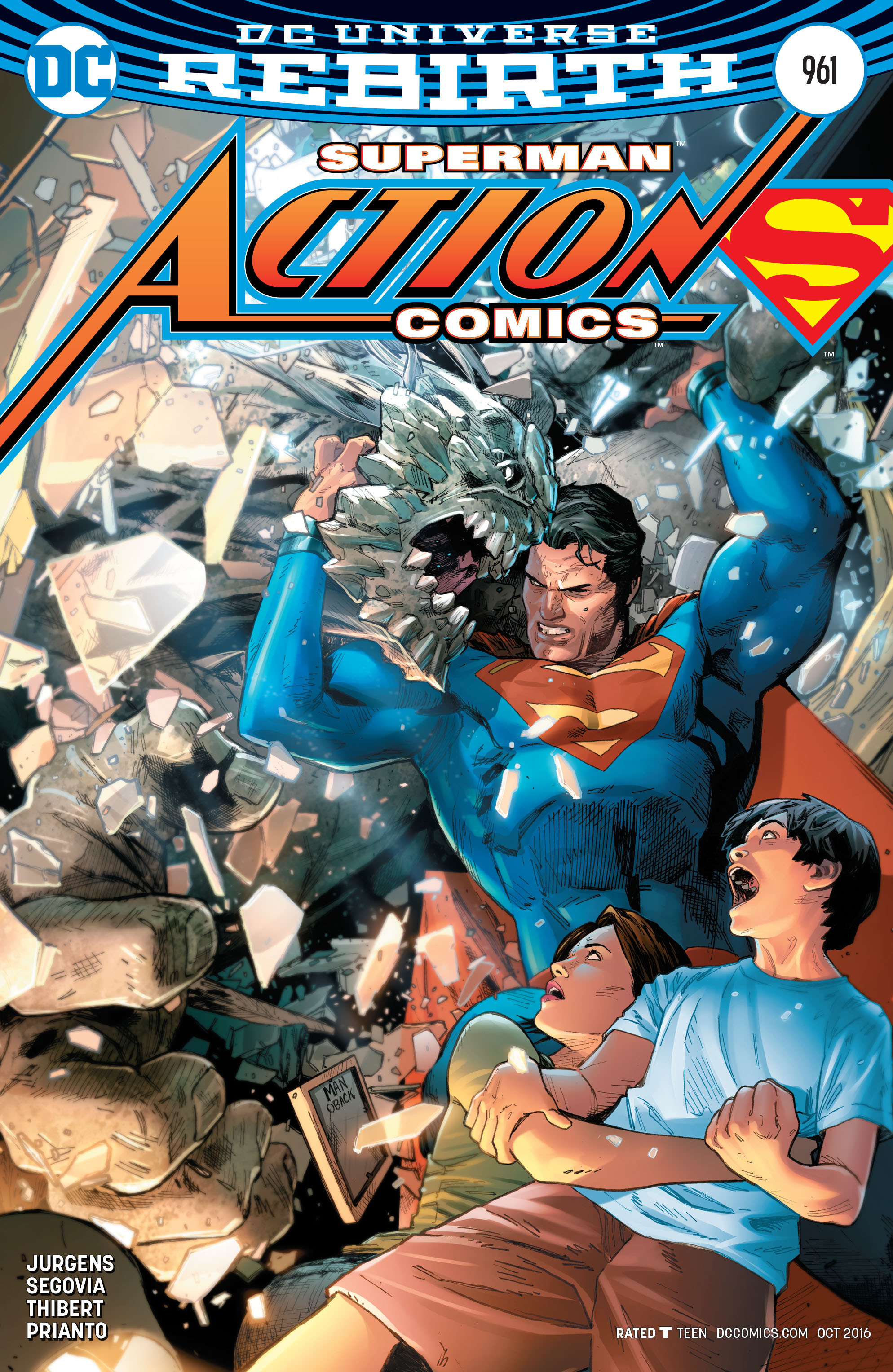 Read online Action Comics (2016) comic -  Issue #961 - 1