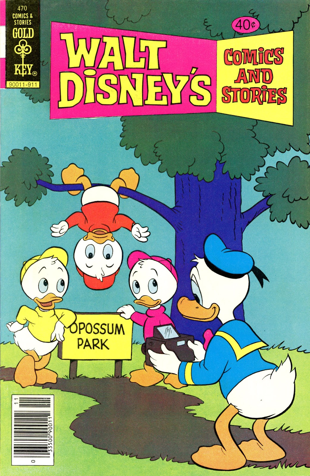 Walt Disney's Comics and Stories issue 470 - Page 1