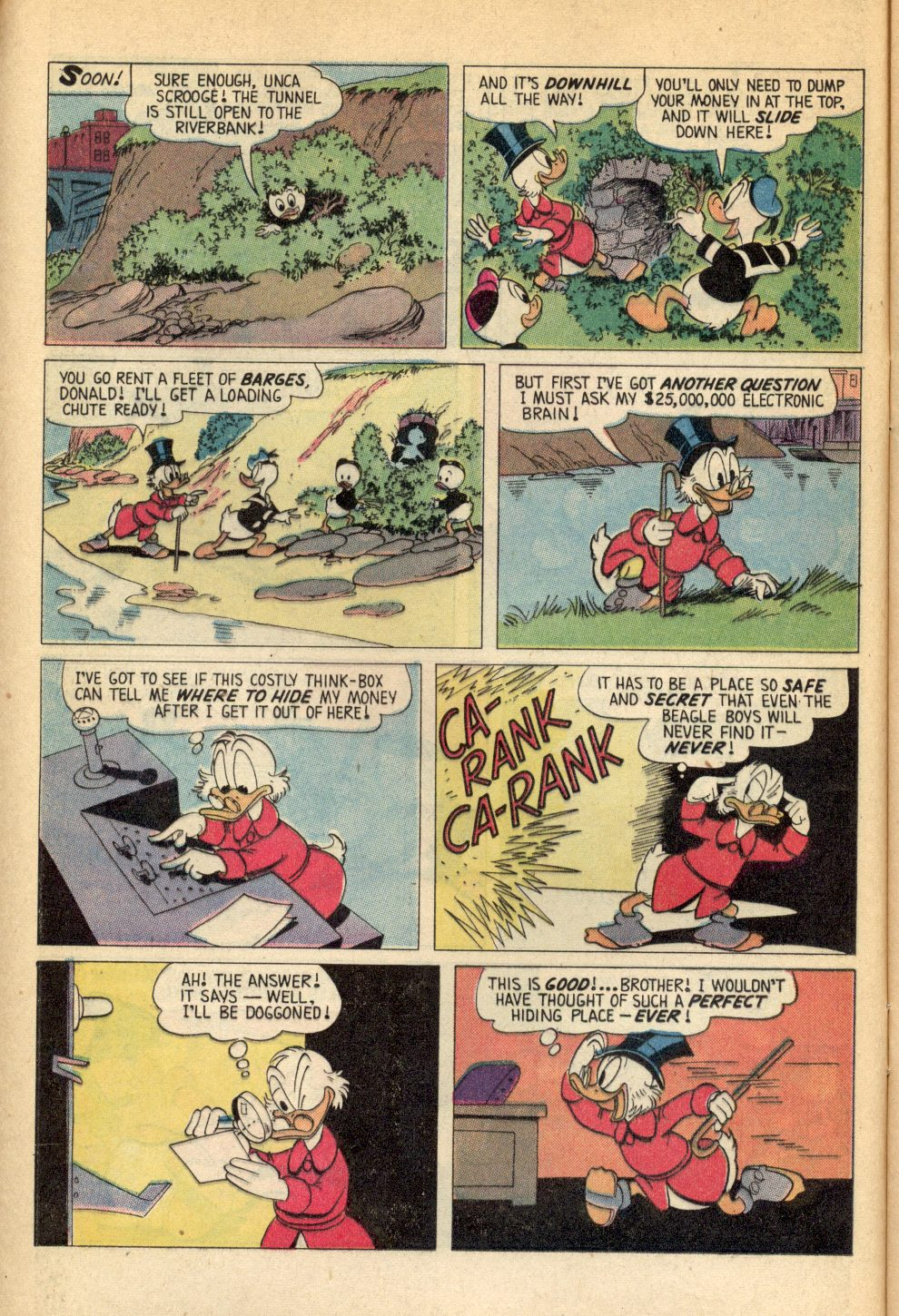 Read online Uncle Scrooge (1953) comic -  Issue #107 - 12