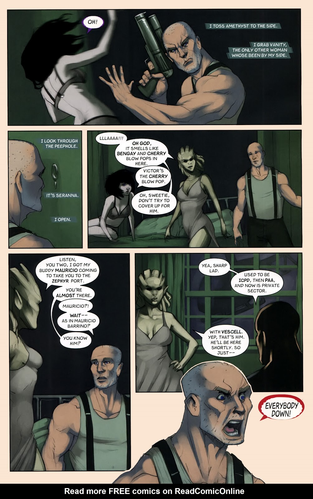 Read online Vescell comic -  Issue #7 - 17