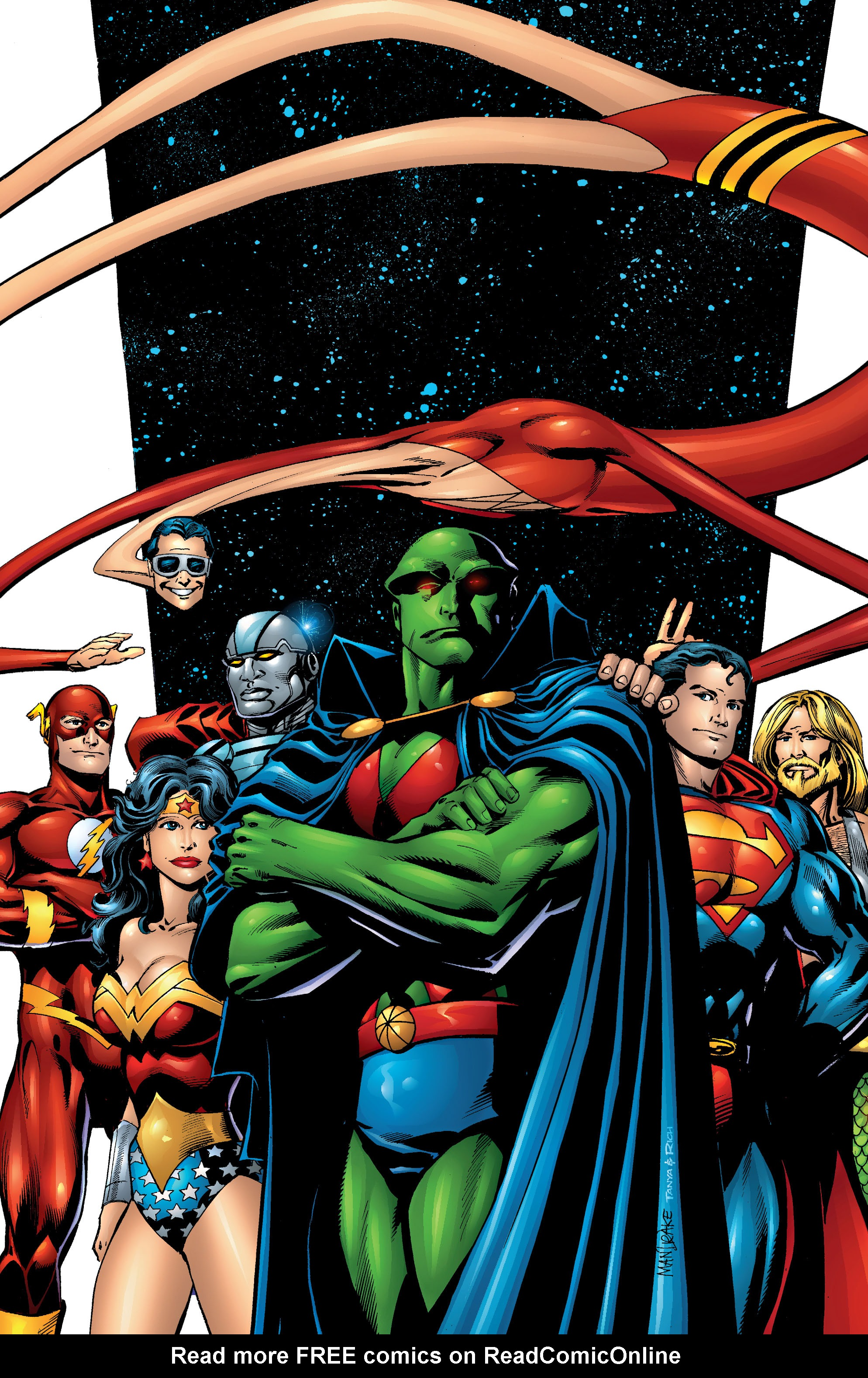 Read online Martian Manhunter: Son of Mars comic -  Issue # TPB - 212