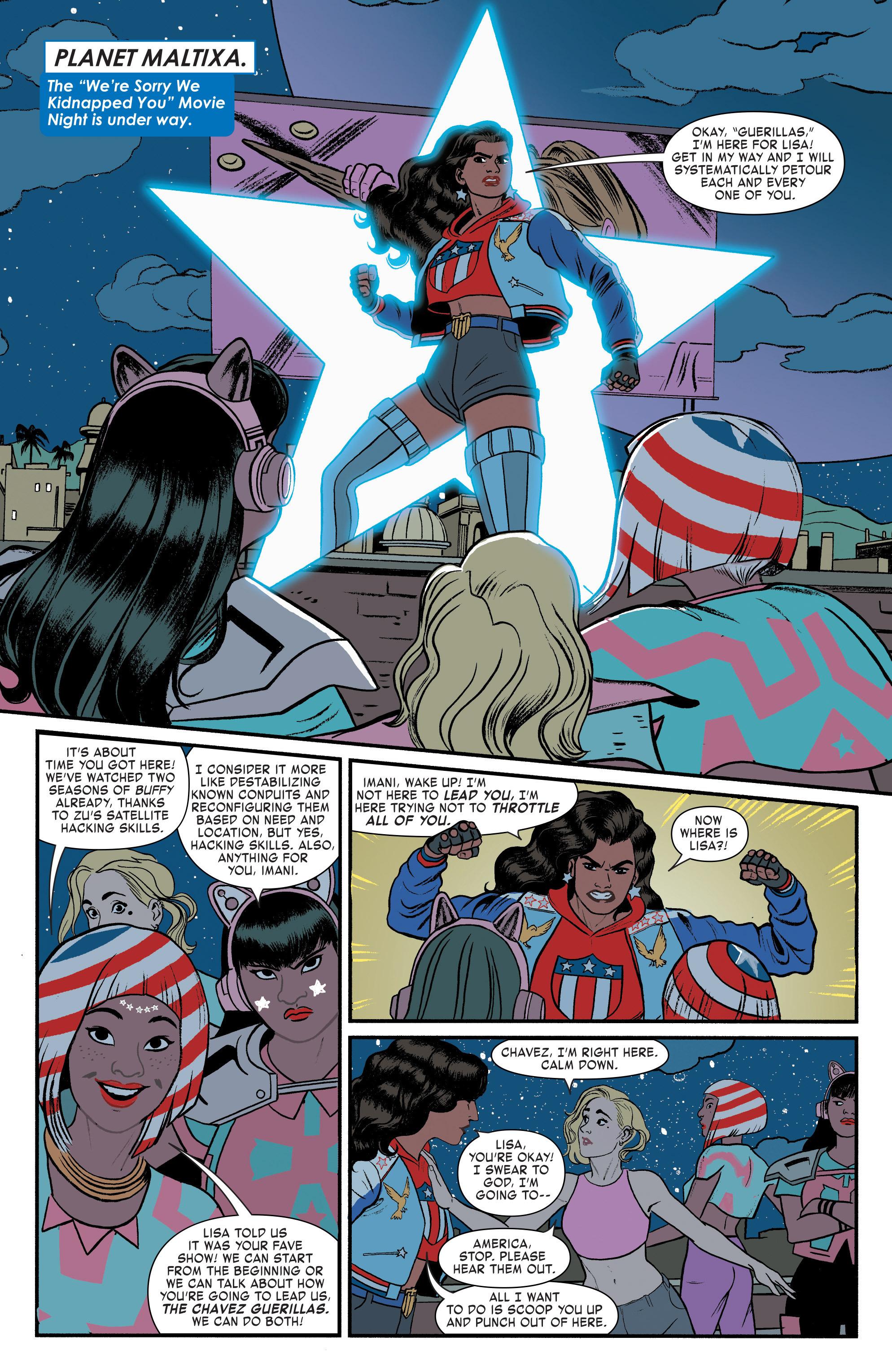 Read online America (2016) comic -  Issue #3 - 15