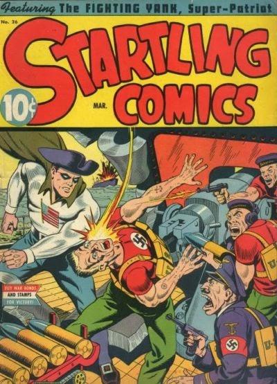 Startling Comics 26 Page 1