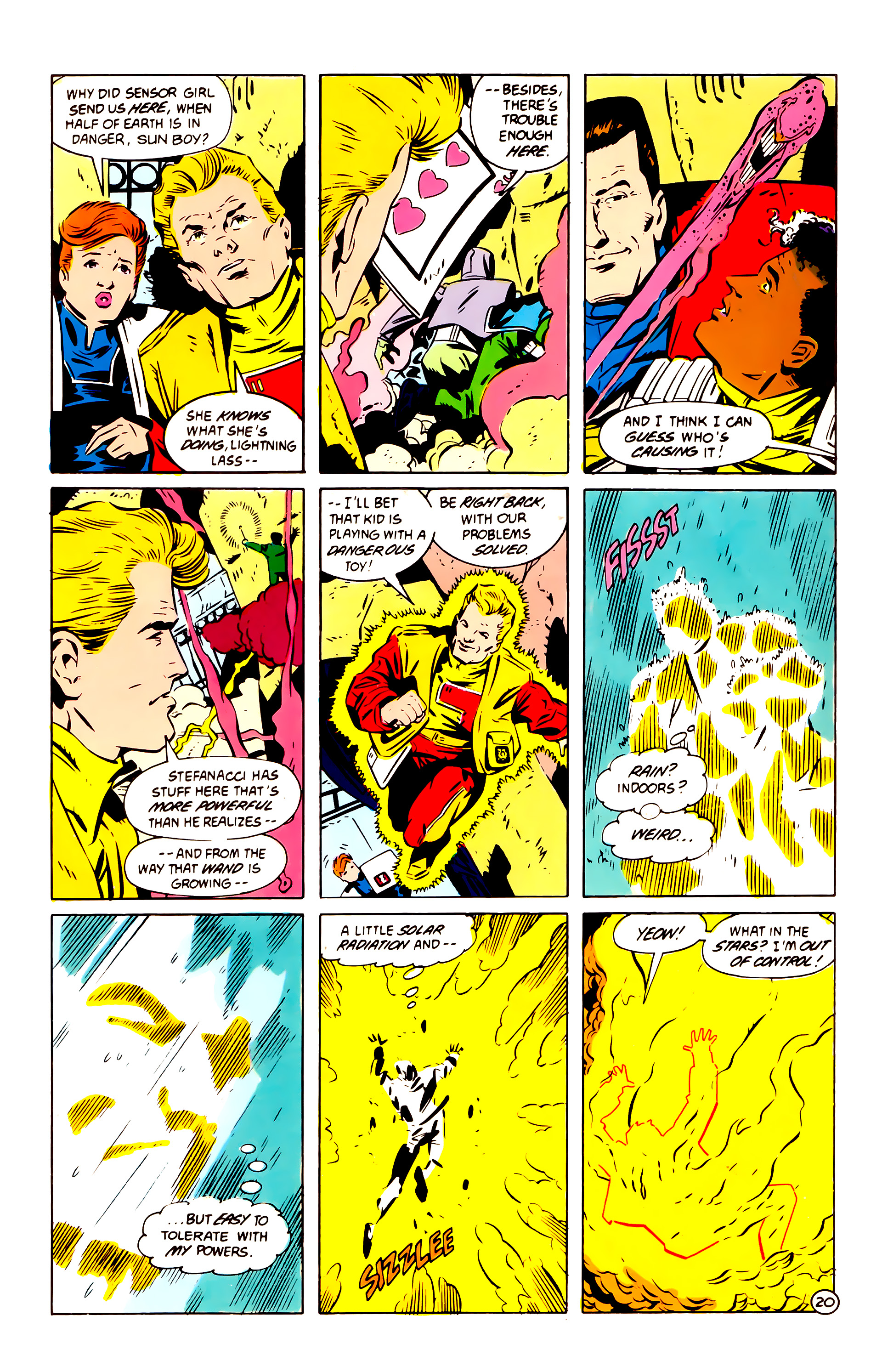 Legion of Super-Heroes (1984) 60 Page 20