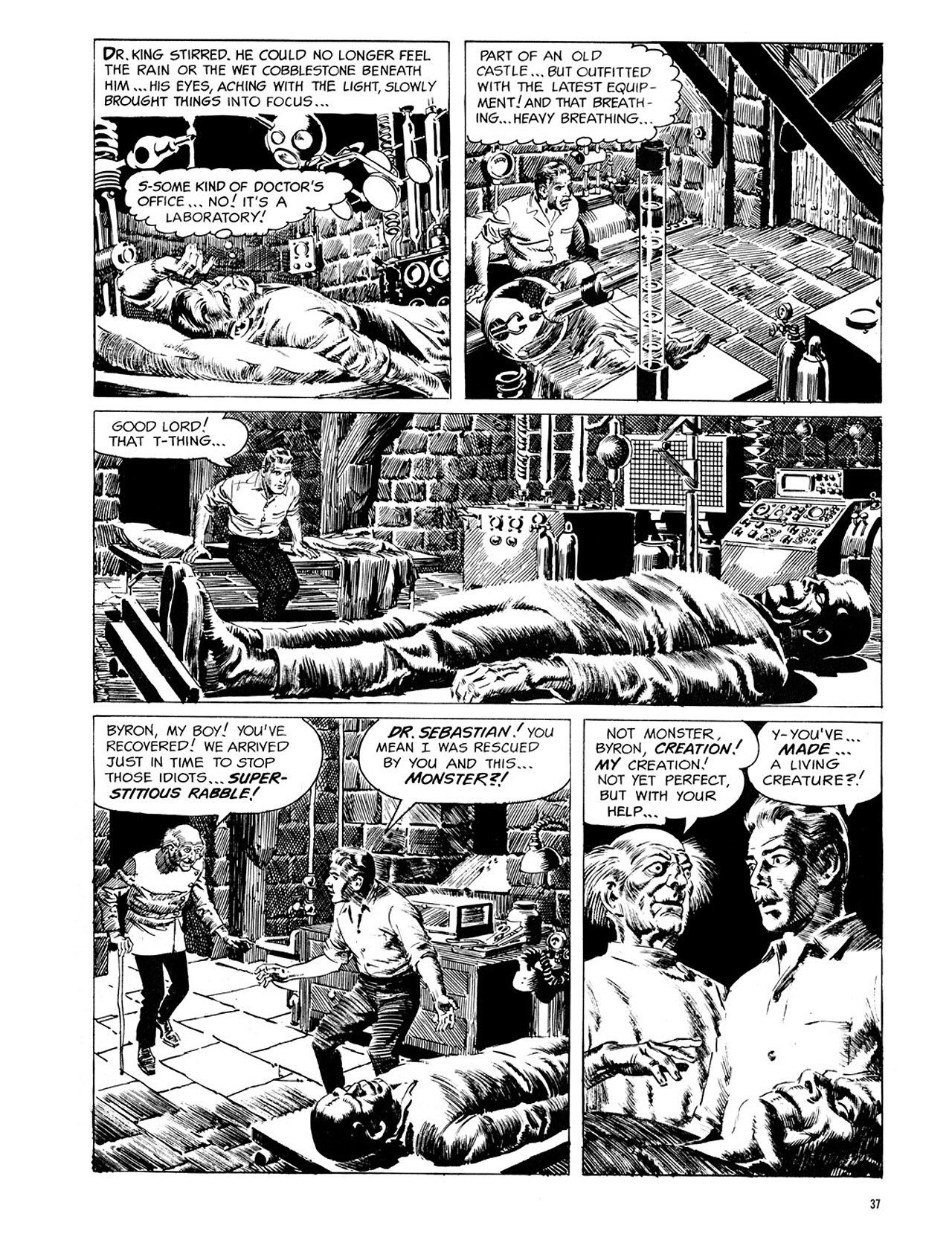 Read online Eerie Archives comic -  Issue # TPB 1 - 38