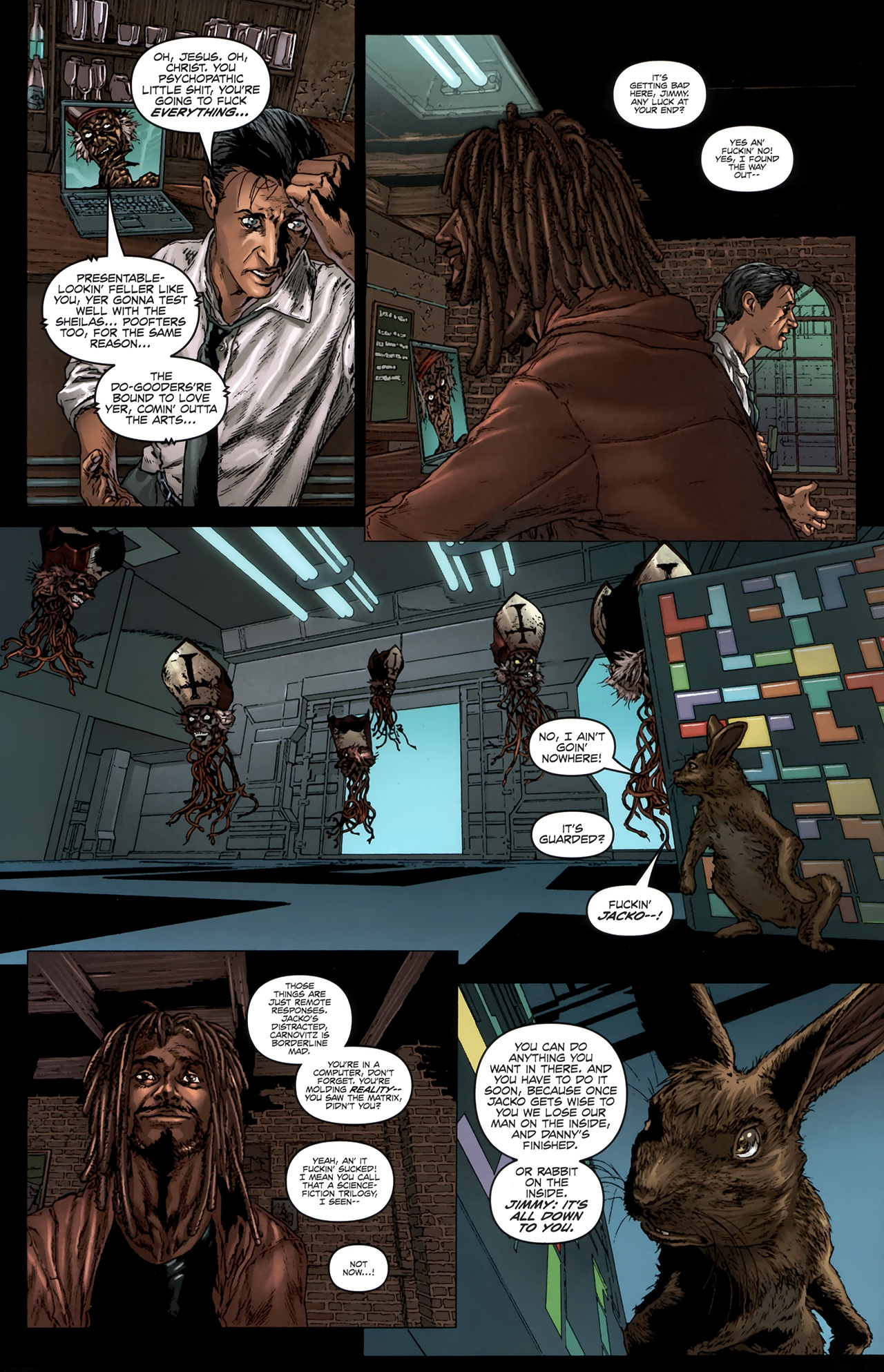 Read online Chronicles of Wormwood: The Last Battle comic -  Issue #6 - 12