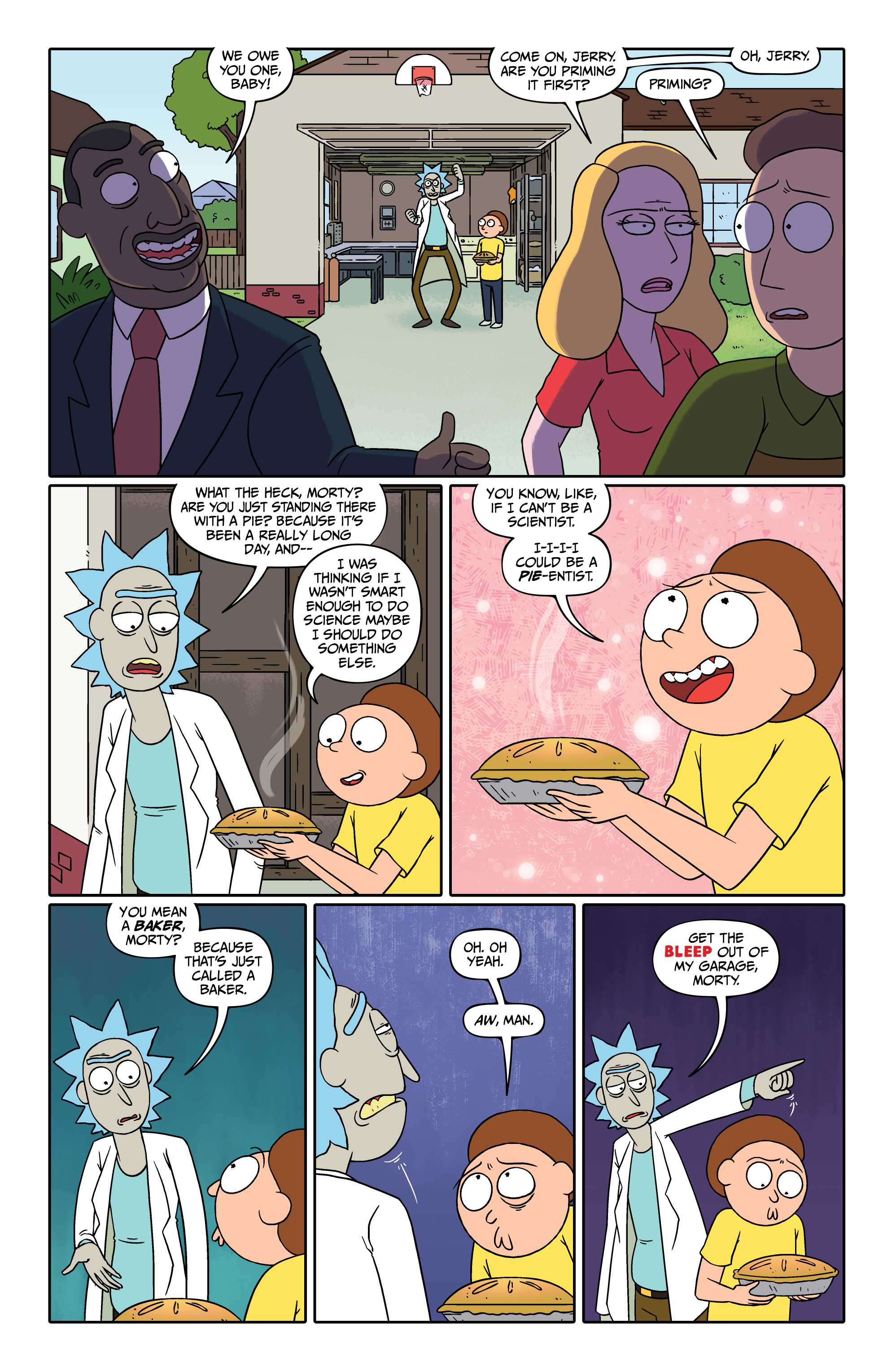 Read online Rick and Morty comic -  Issue #26 - 19