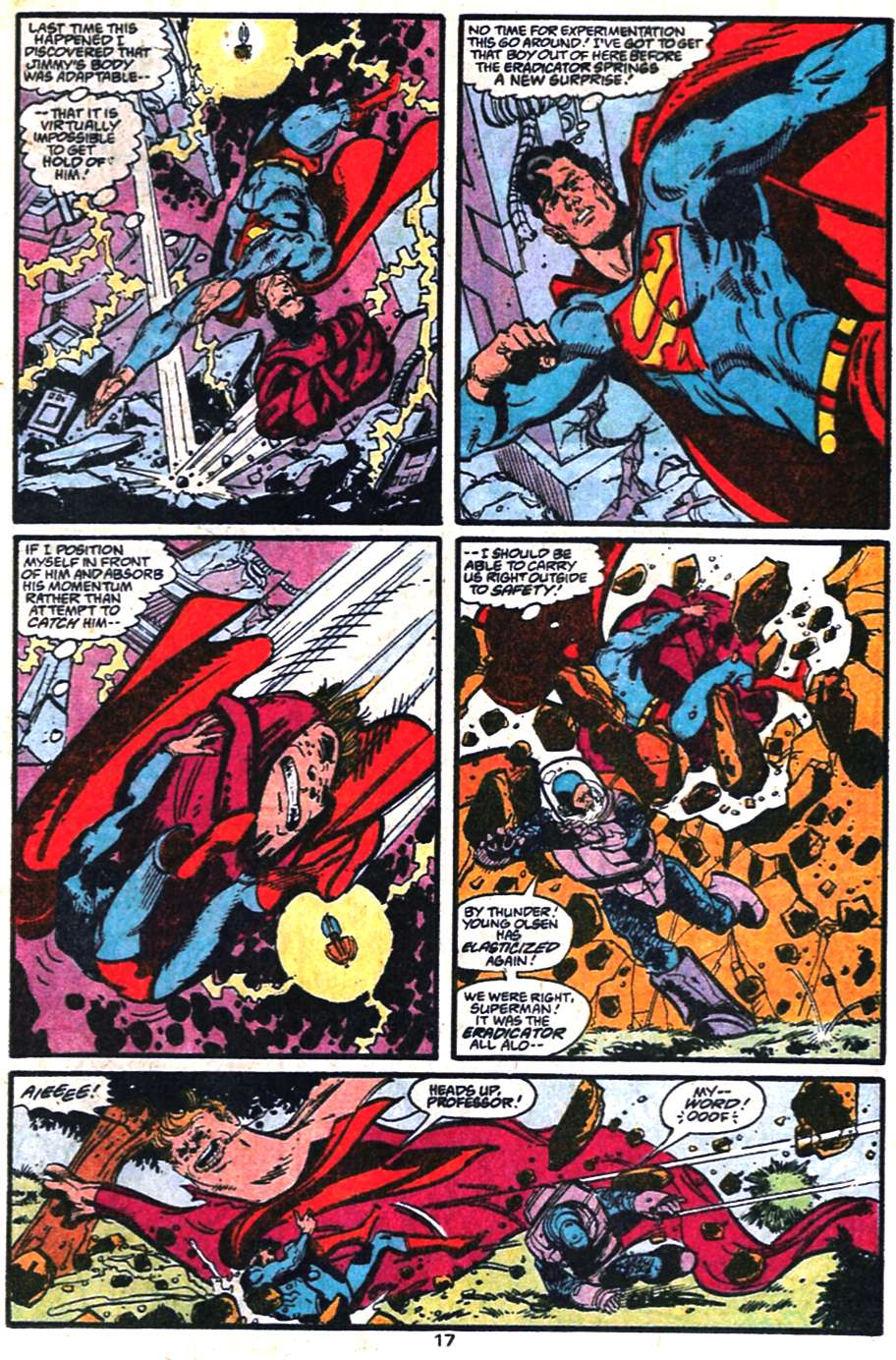 Read online Adventures of Superman (1987) comic -  Issue #459 - 18