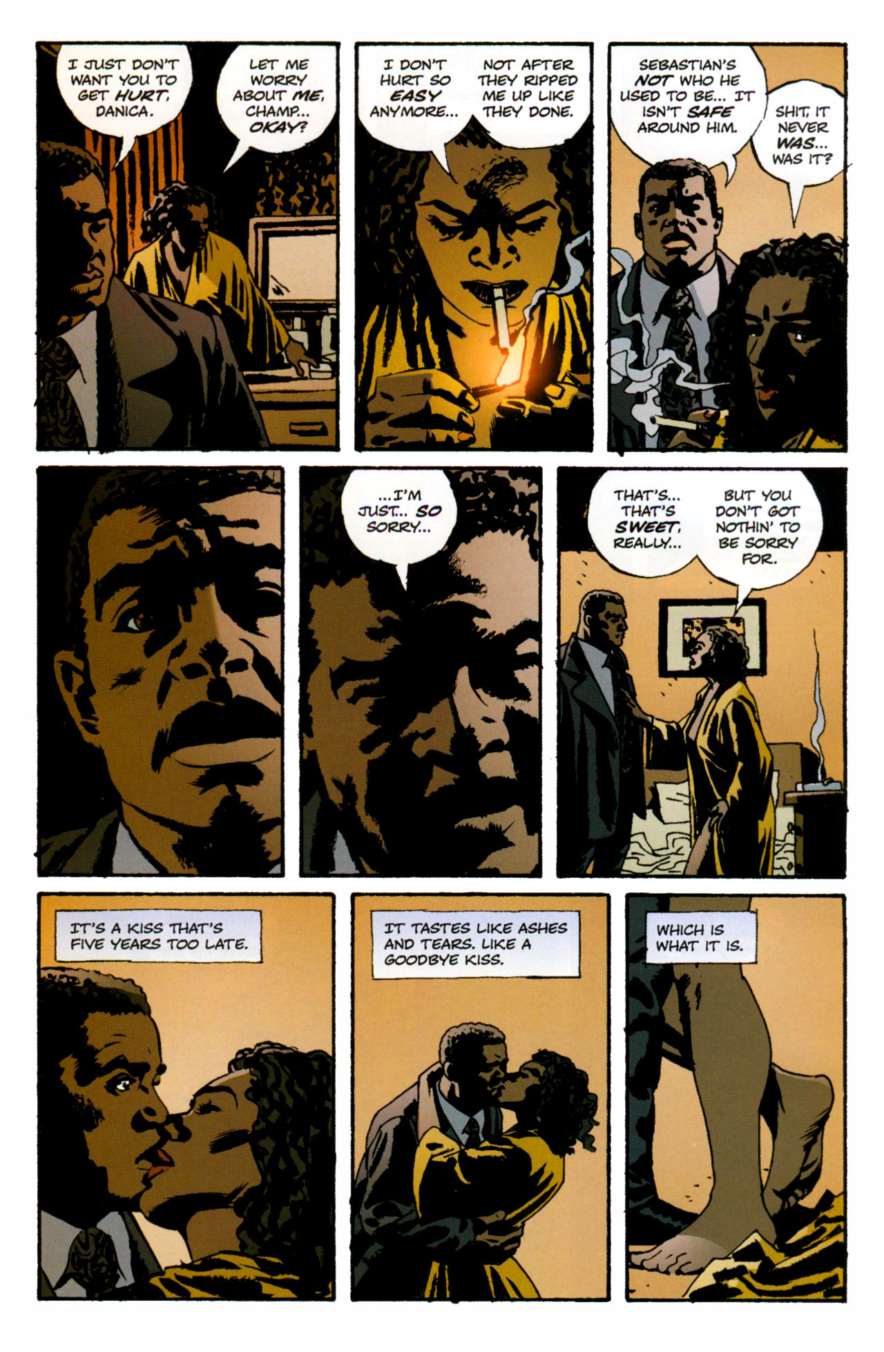 Read online Criminal (2008) comic -  Issue #1 - 23