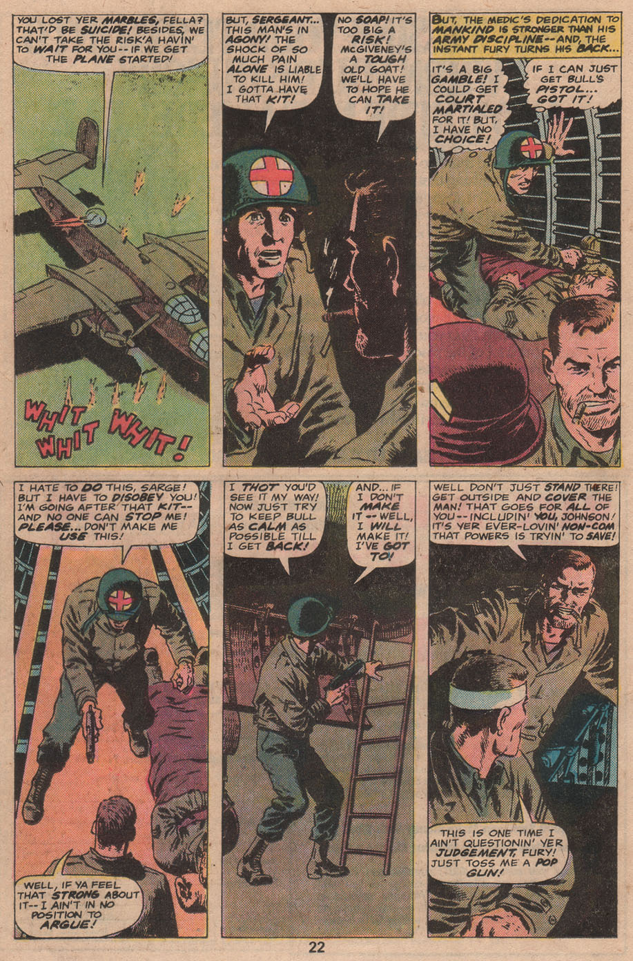 Read online Sgt. Fury comic -  Issue #141 - 24