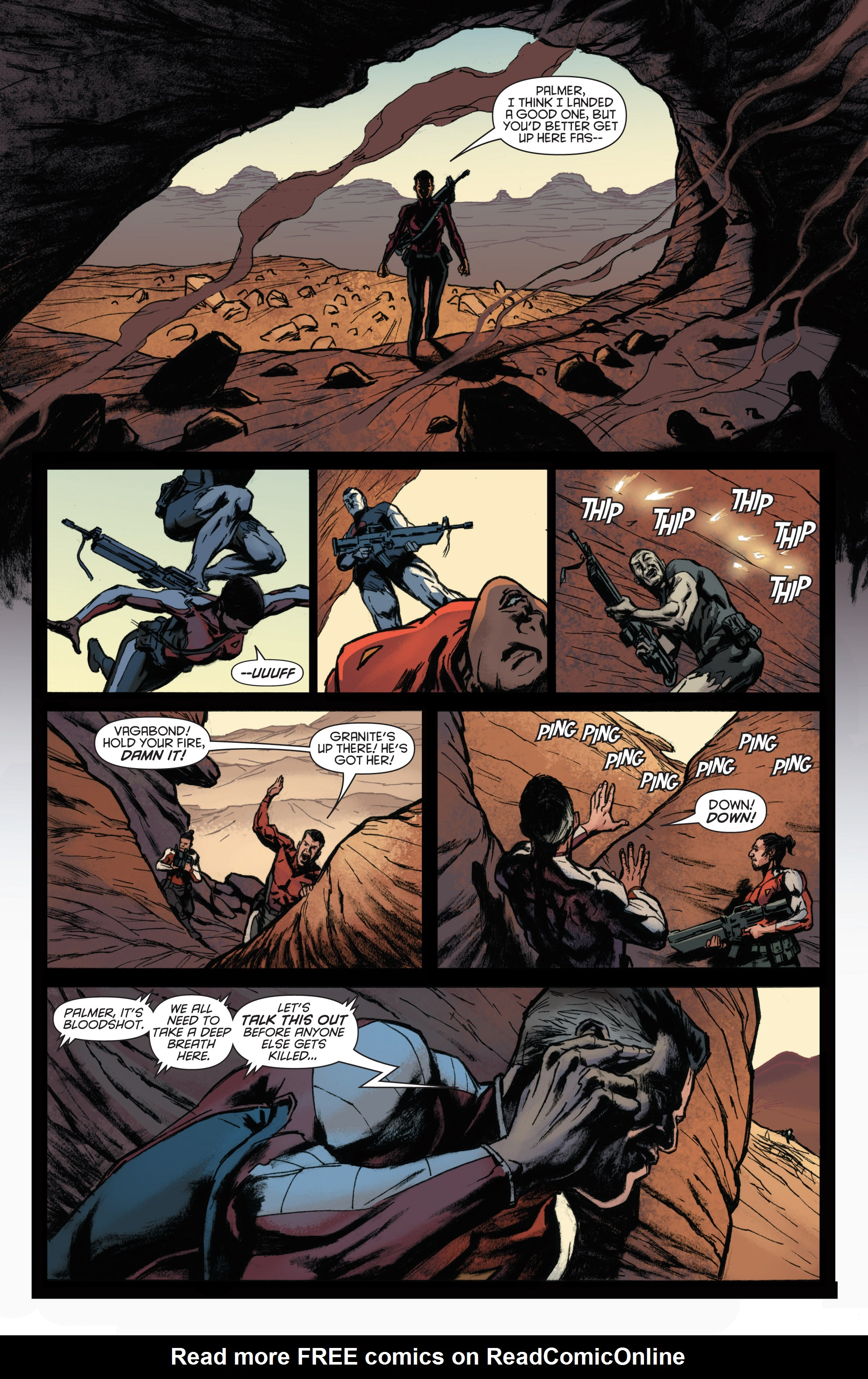 Read online Bloodshot and H.A.R.D.Corps comic -  Issue #22 - 17