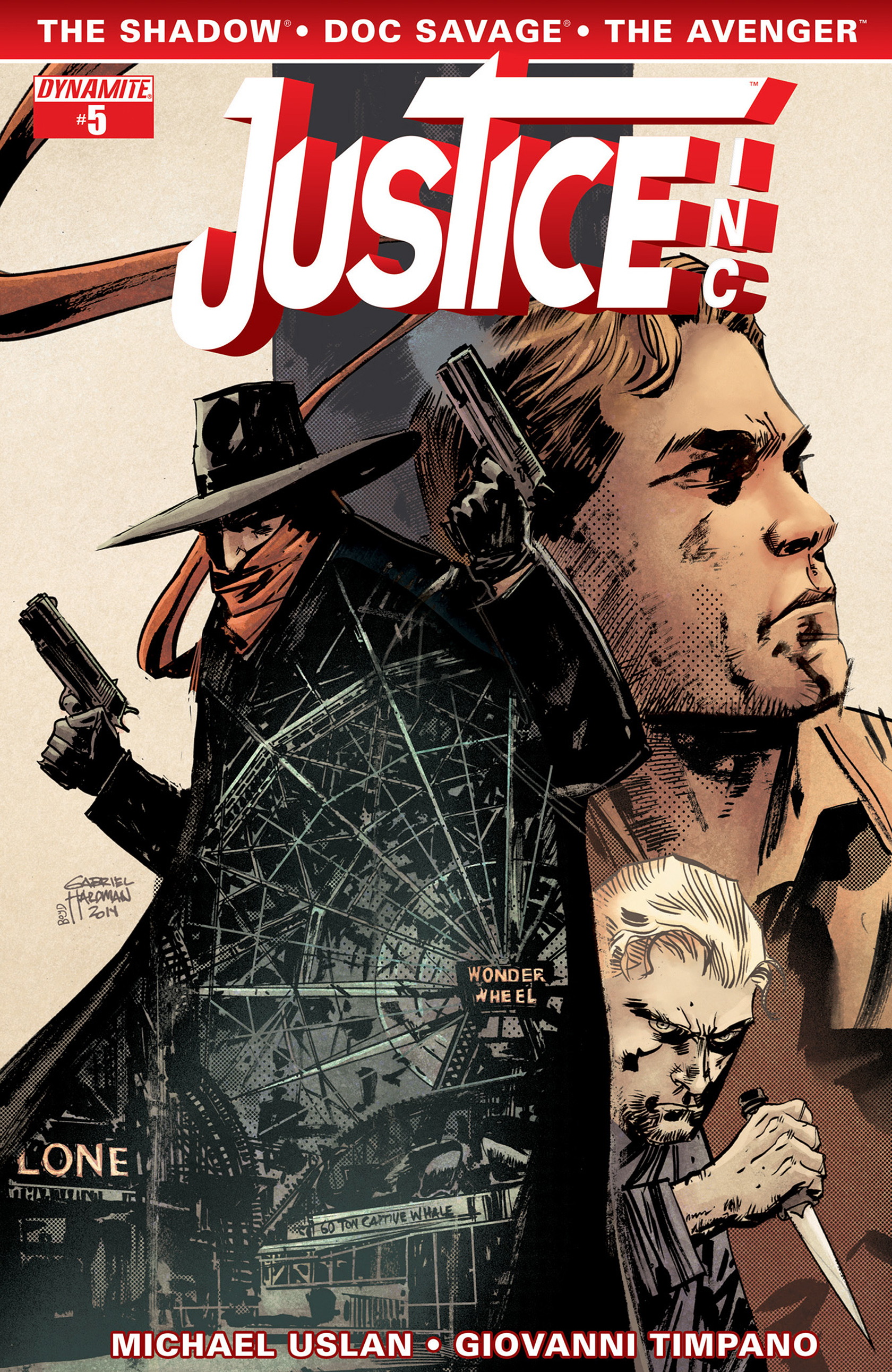 Read online Justice, Inc. comic -  Issue #5 - 3