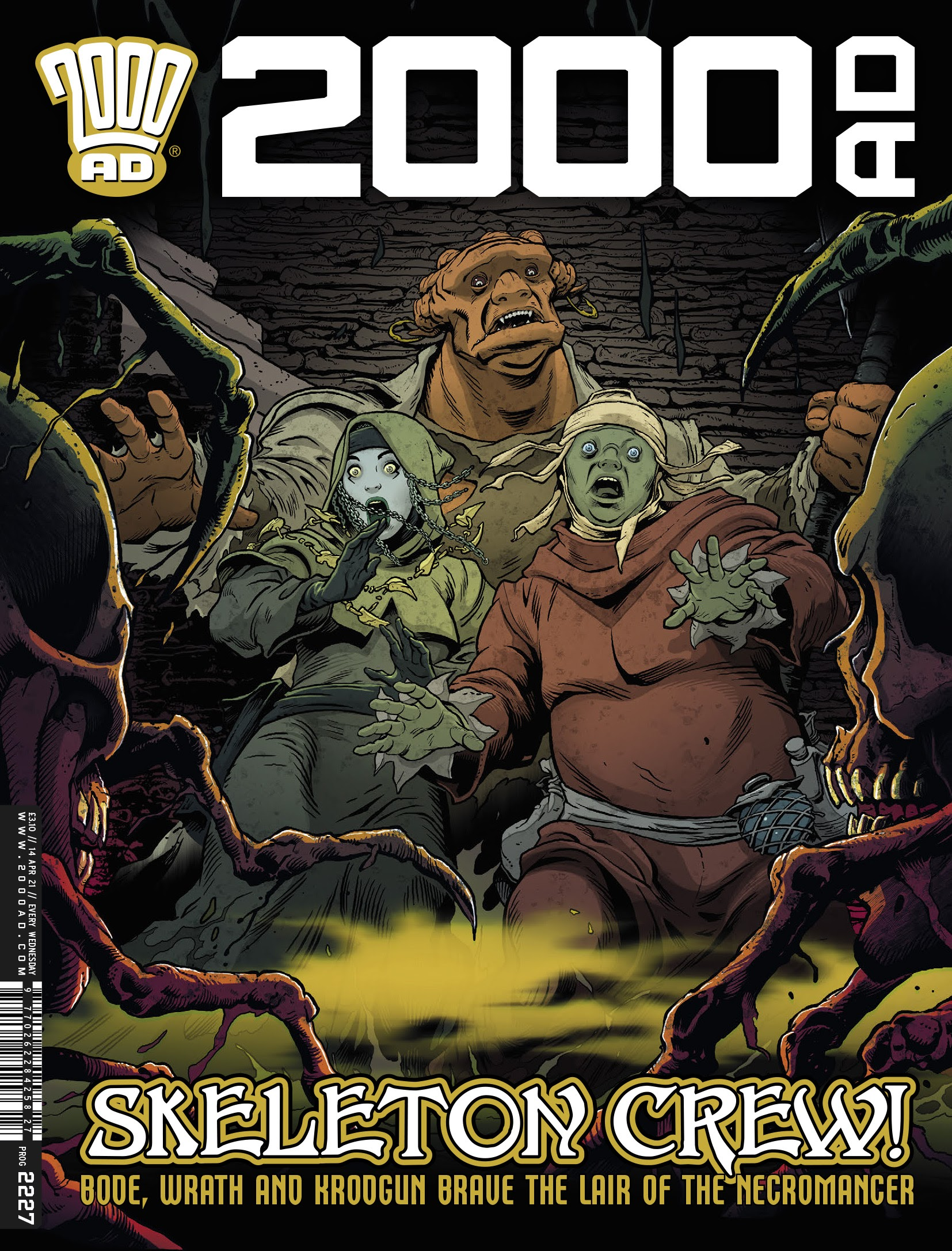 2000 AD 2227 Page 1