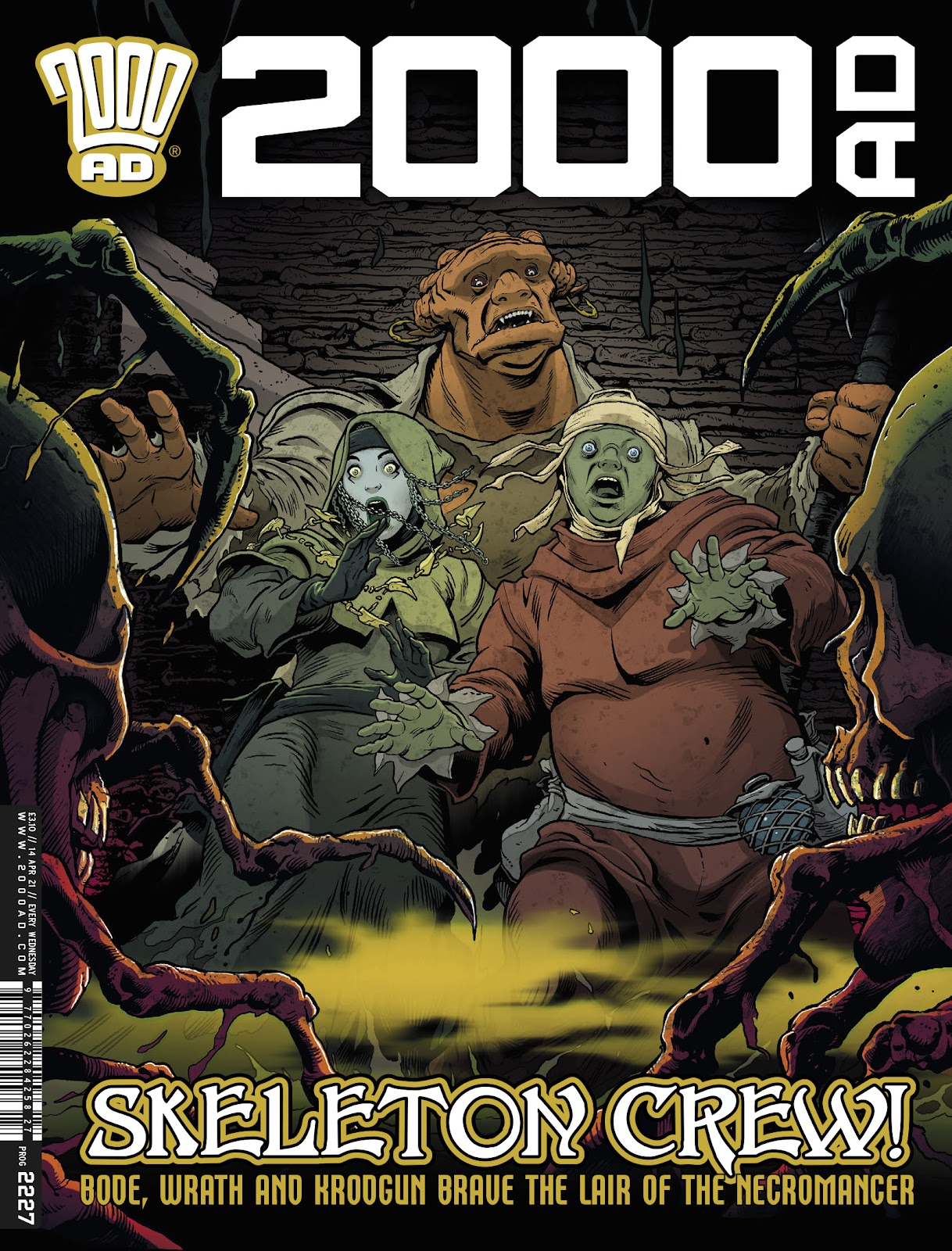 2000 AD issue 2227 - Page 1