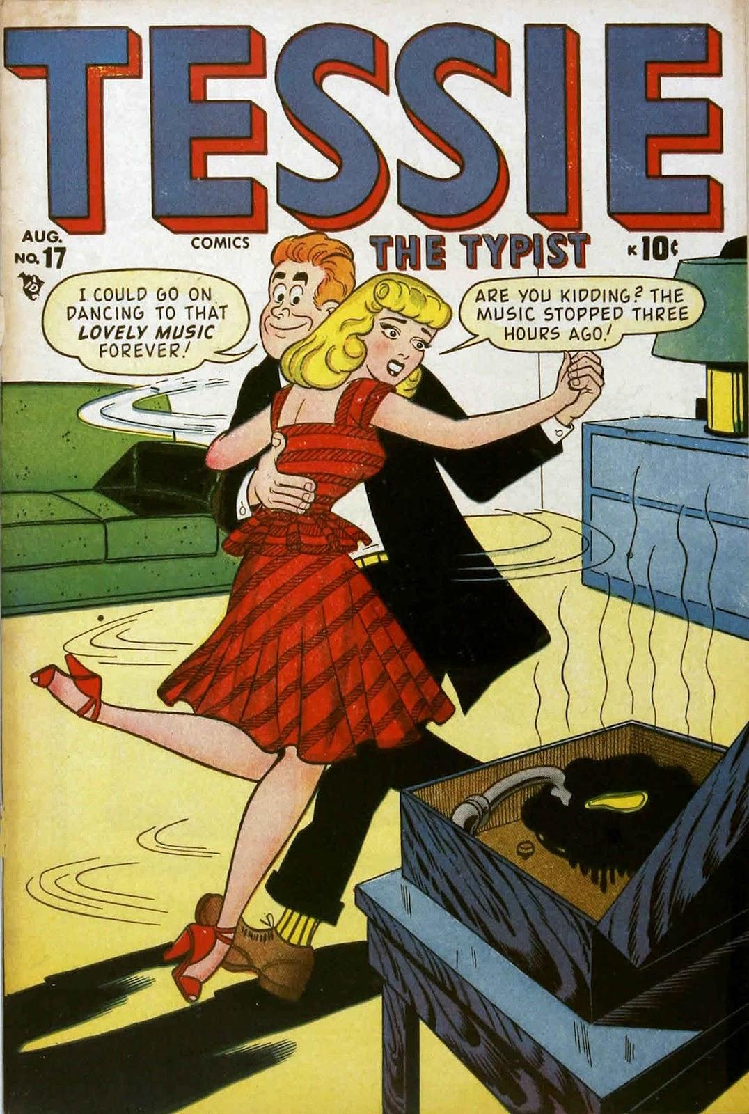 Tessie the Typist issue 17 - Page 1