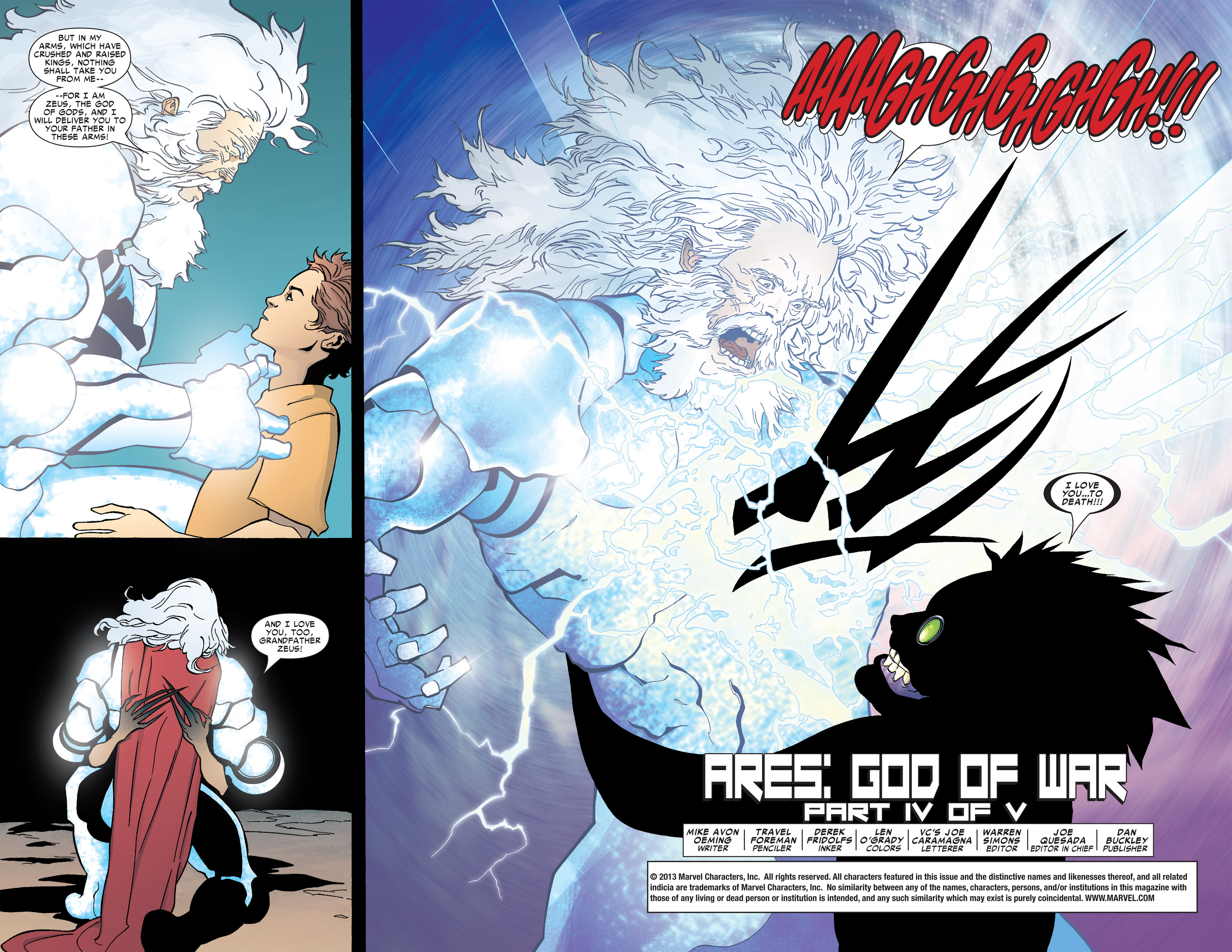 Read online Ares comic -  Issue #4 - 3