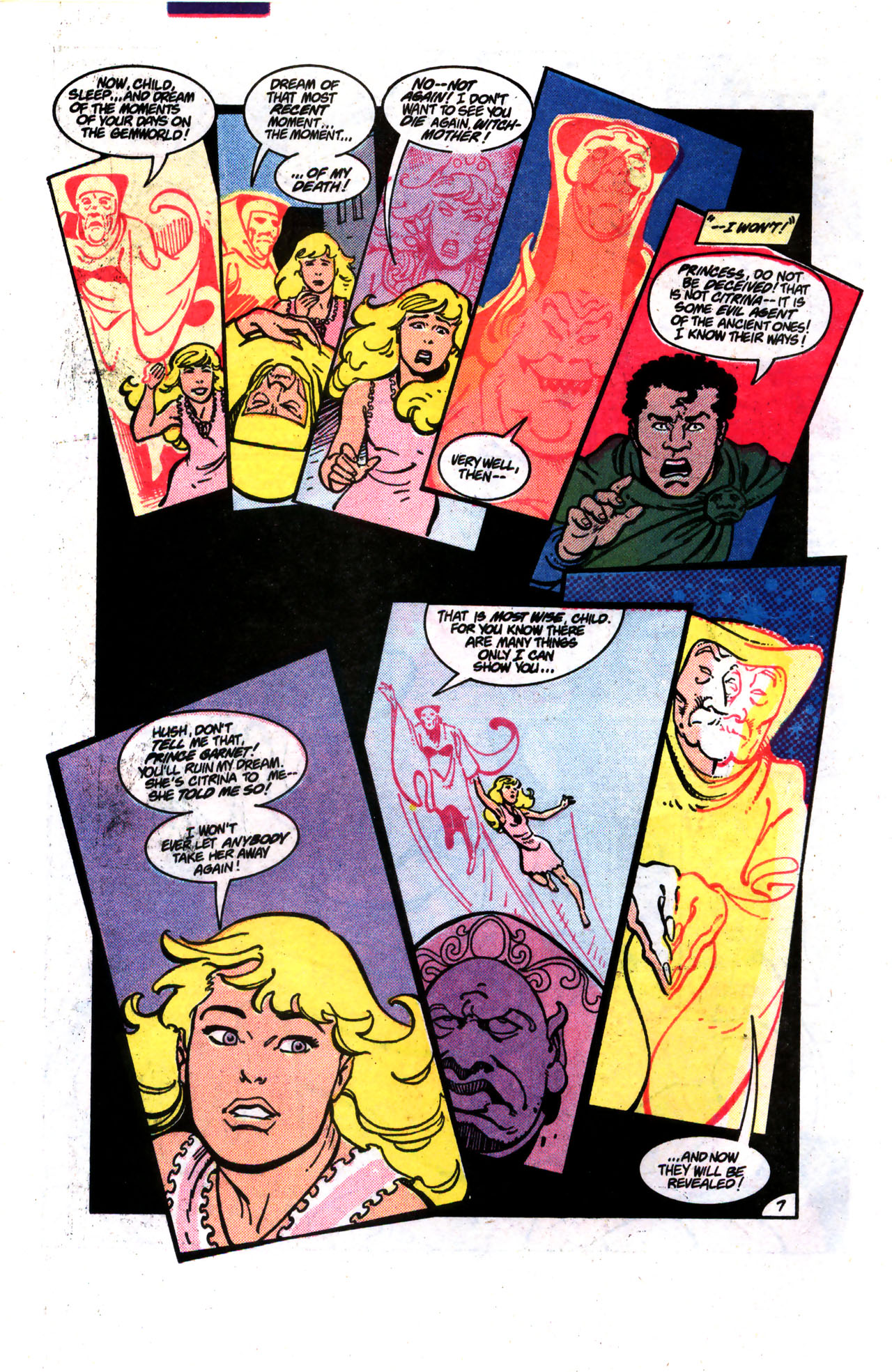 Read online Amethyst (1985) comic -  Issue #9 - 7